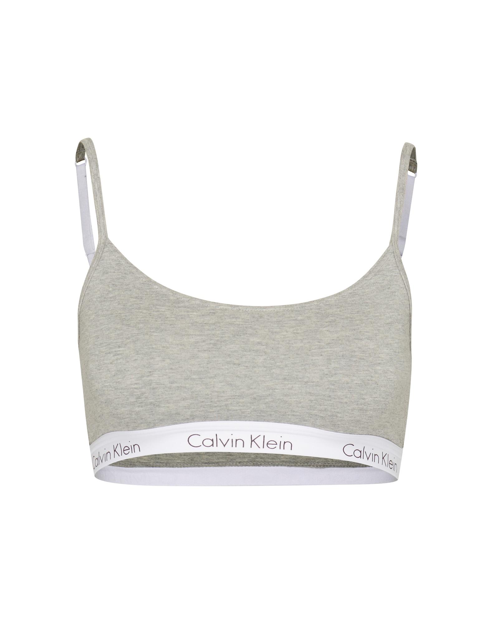 Podprsenka BRALETTE světle šedá Calvin Klein Underwear