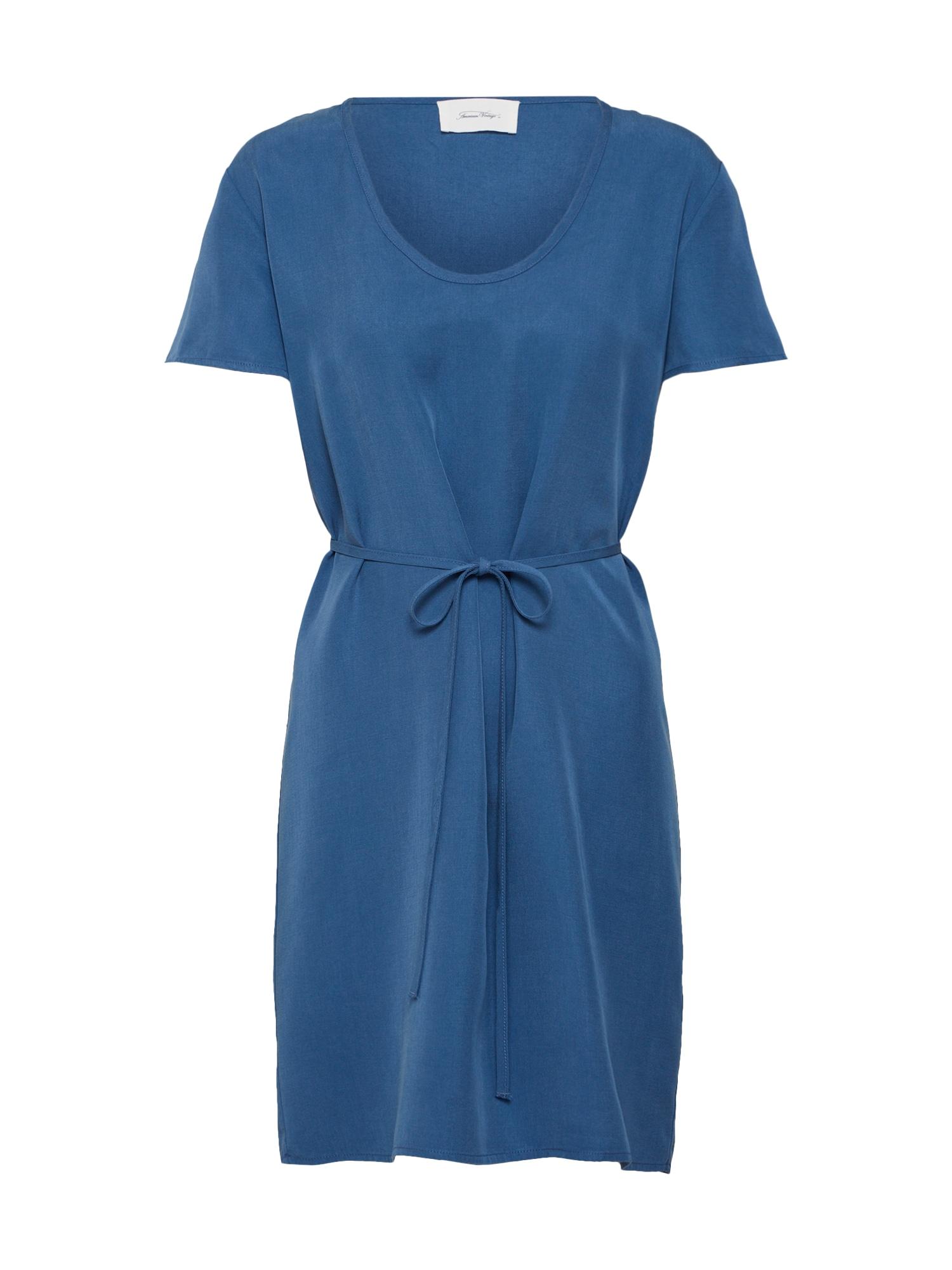 Šaty Nalastate modrá AMERICAN VINTAGE