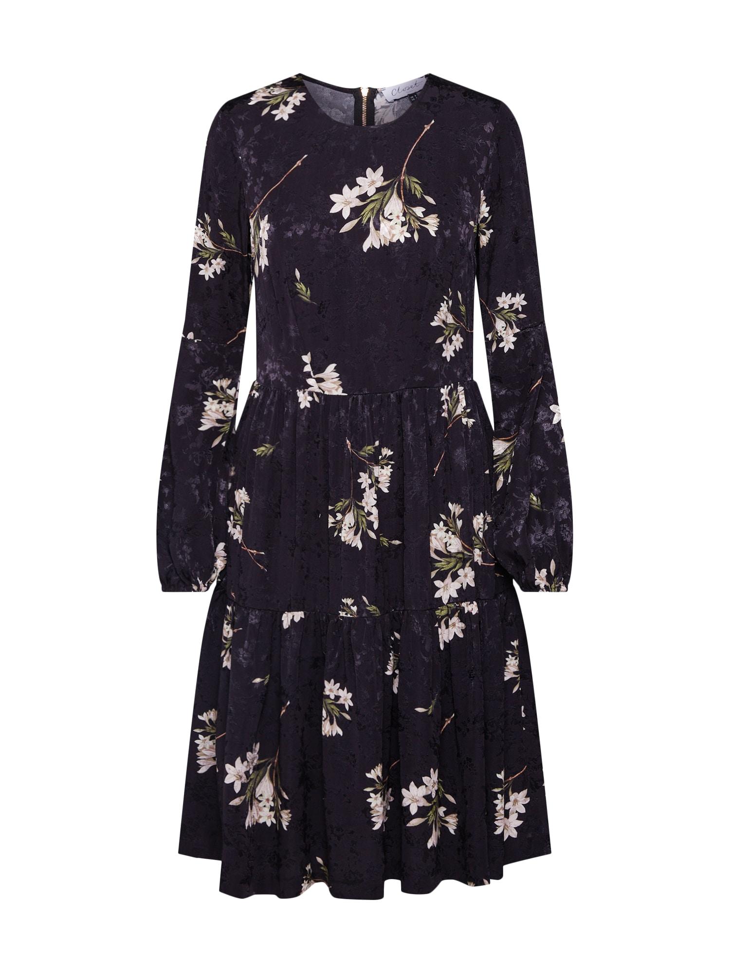 Šaty Closet Gathered černá Closet London