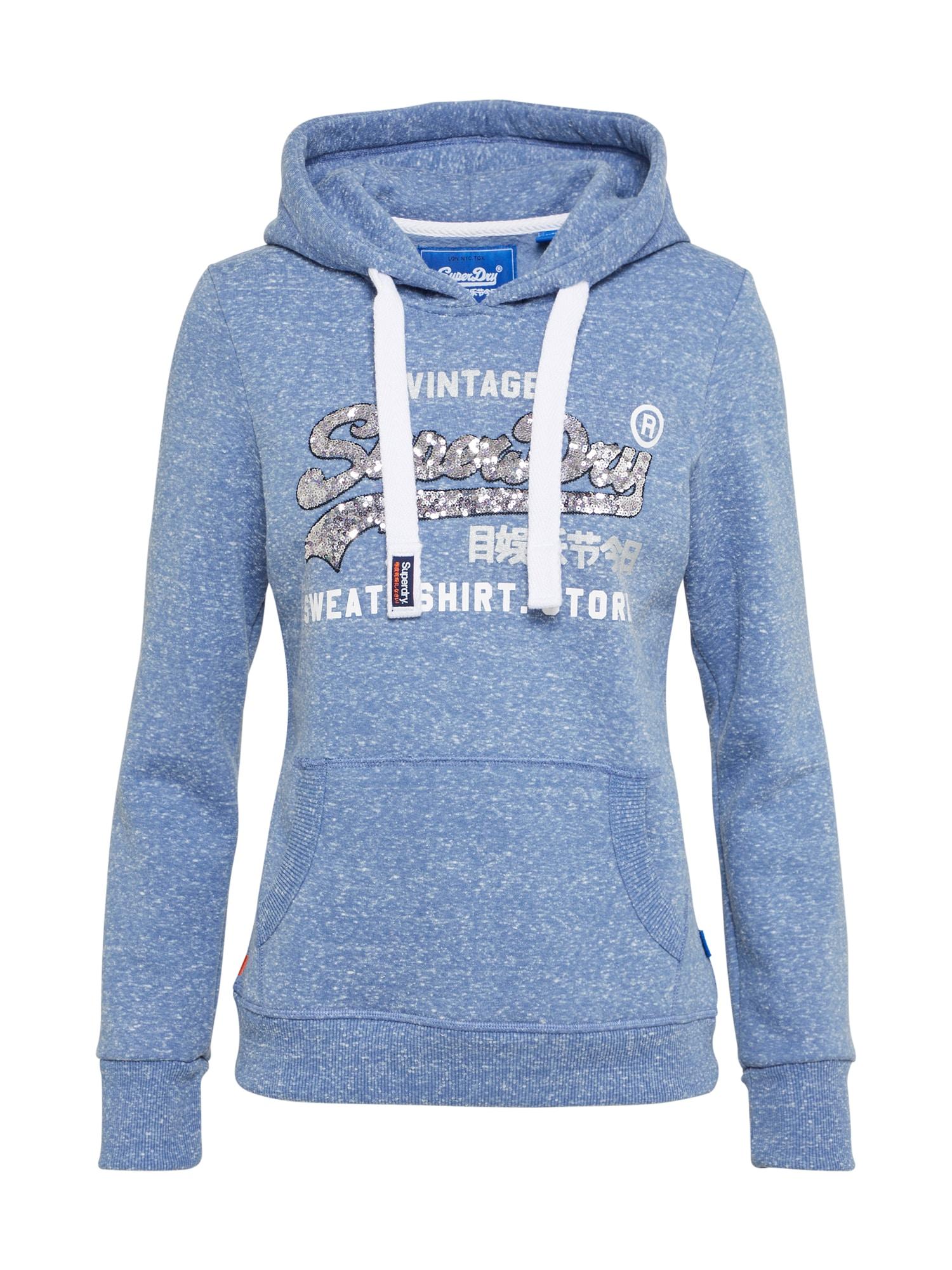 Superdry, Dames Sweatshirt, blauw