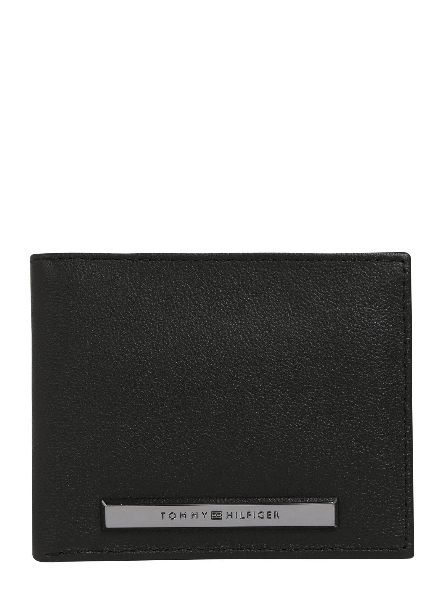 Peněženka CORP PLAQUE černá TOMMY HILFIGER