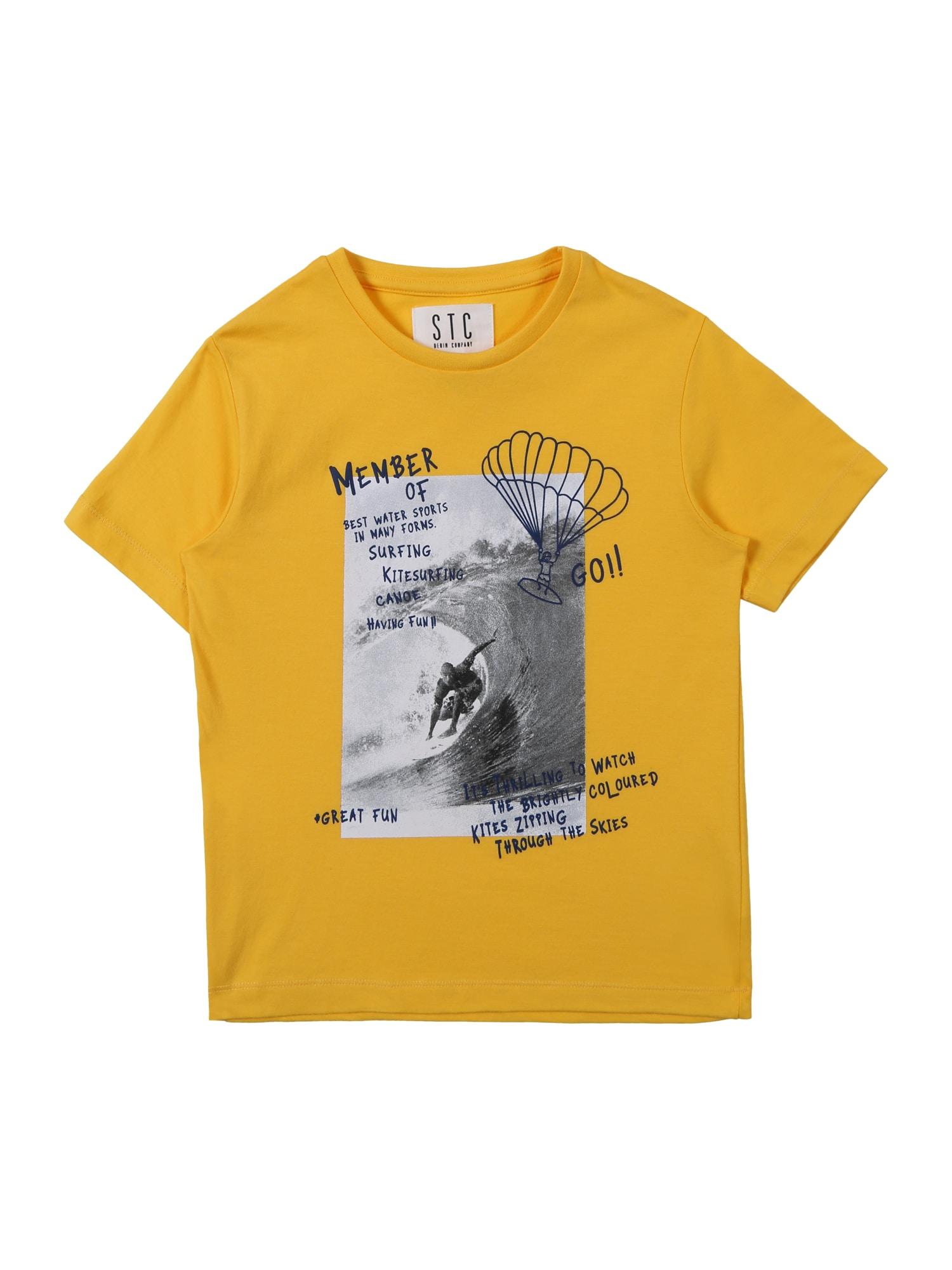 Tričko žlutá STACCATO