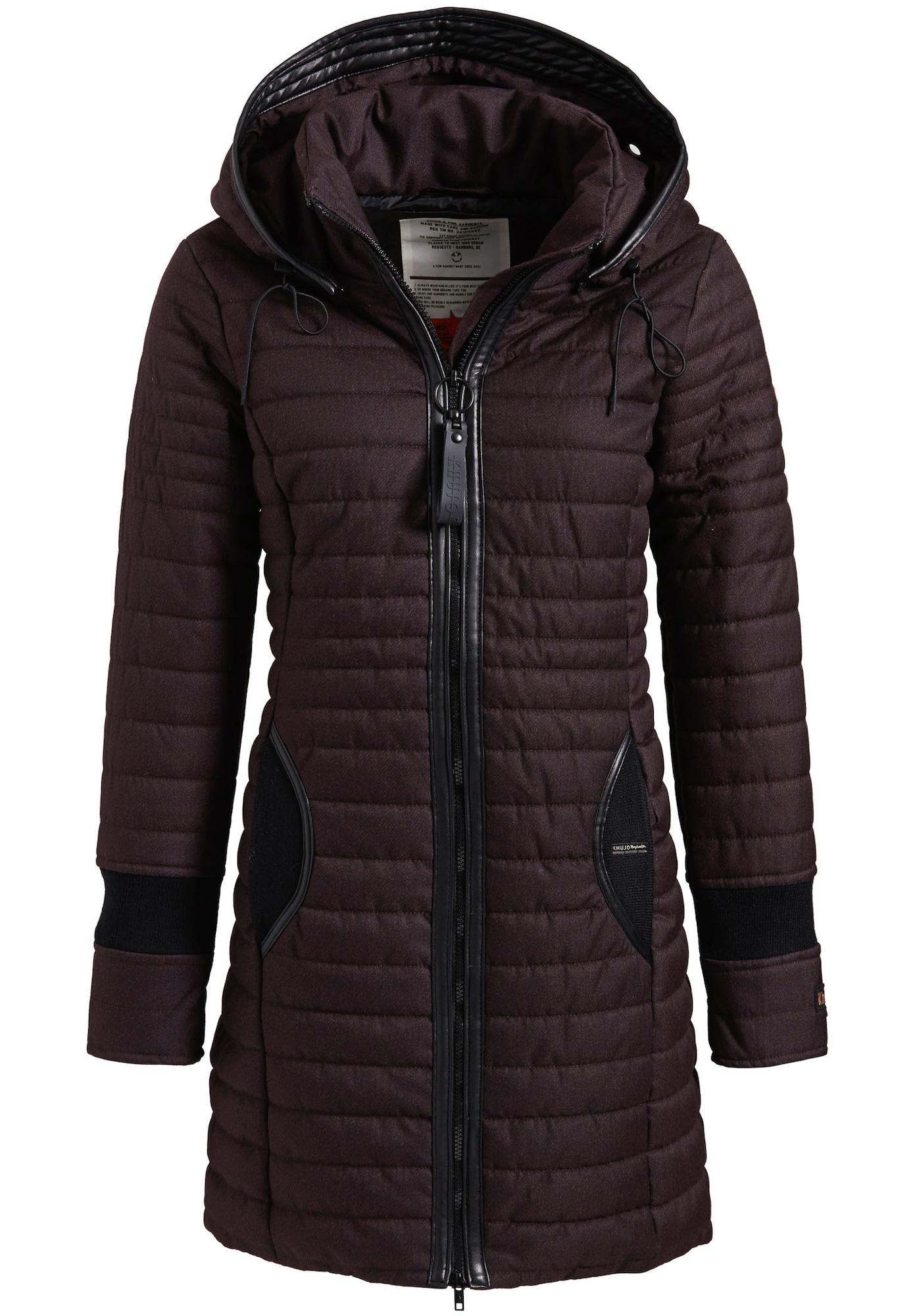 Zimní bunda DAILY2 bobule černá Khujo