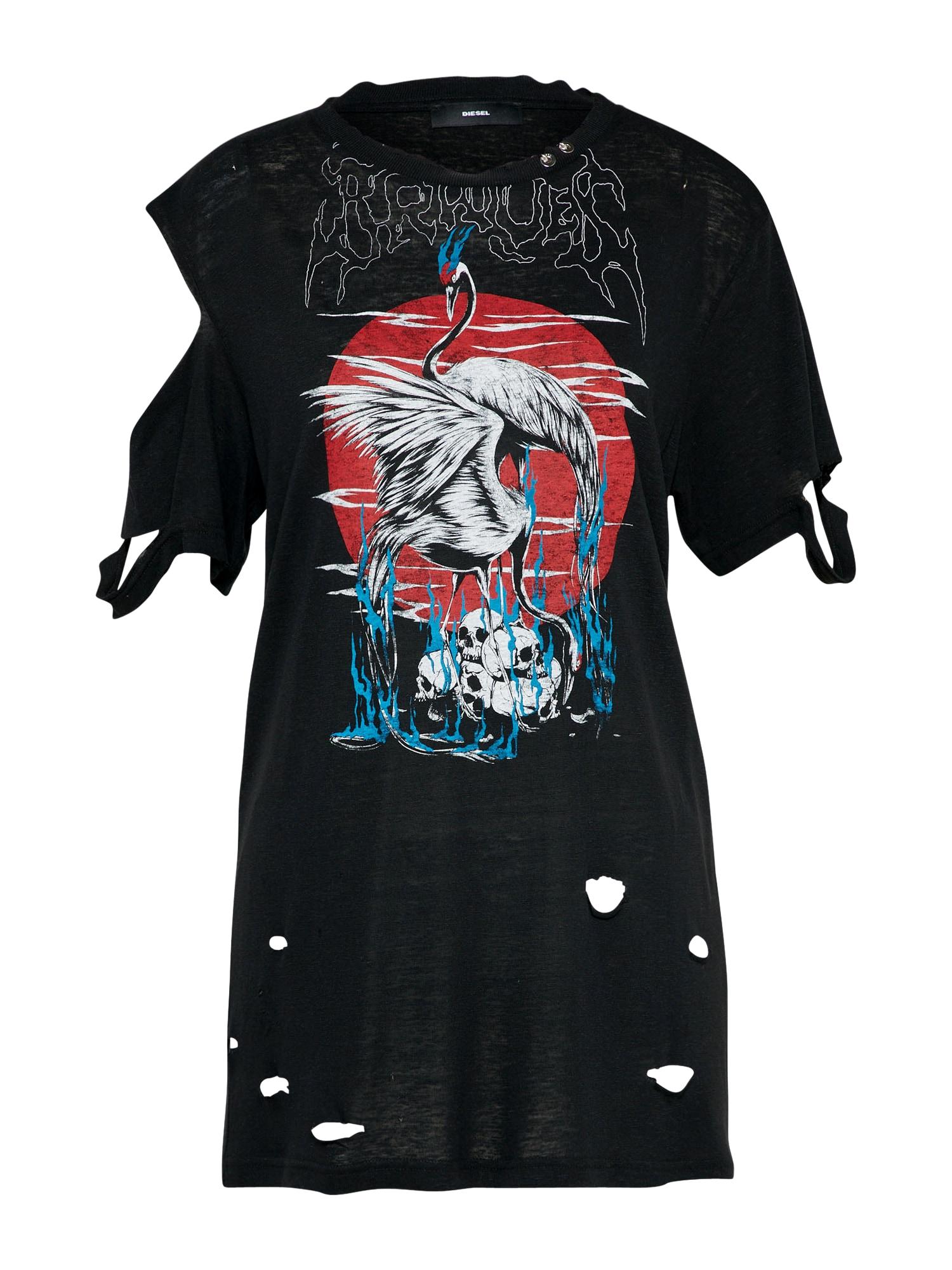 DIESEL Dames Shirt T-CYNTH-A zwart