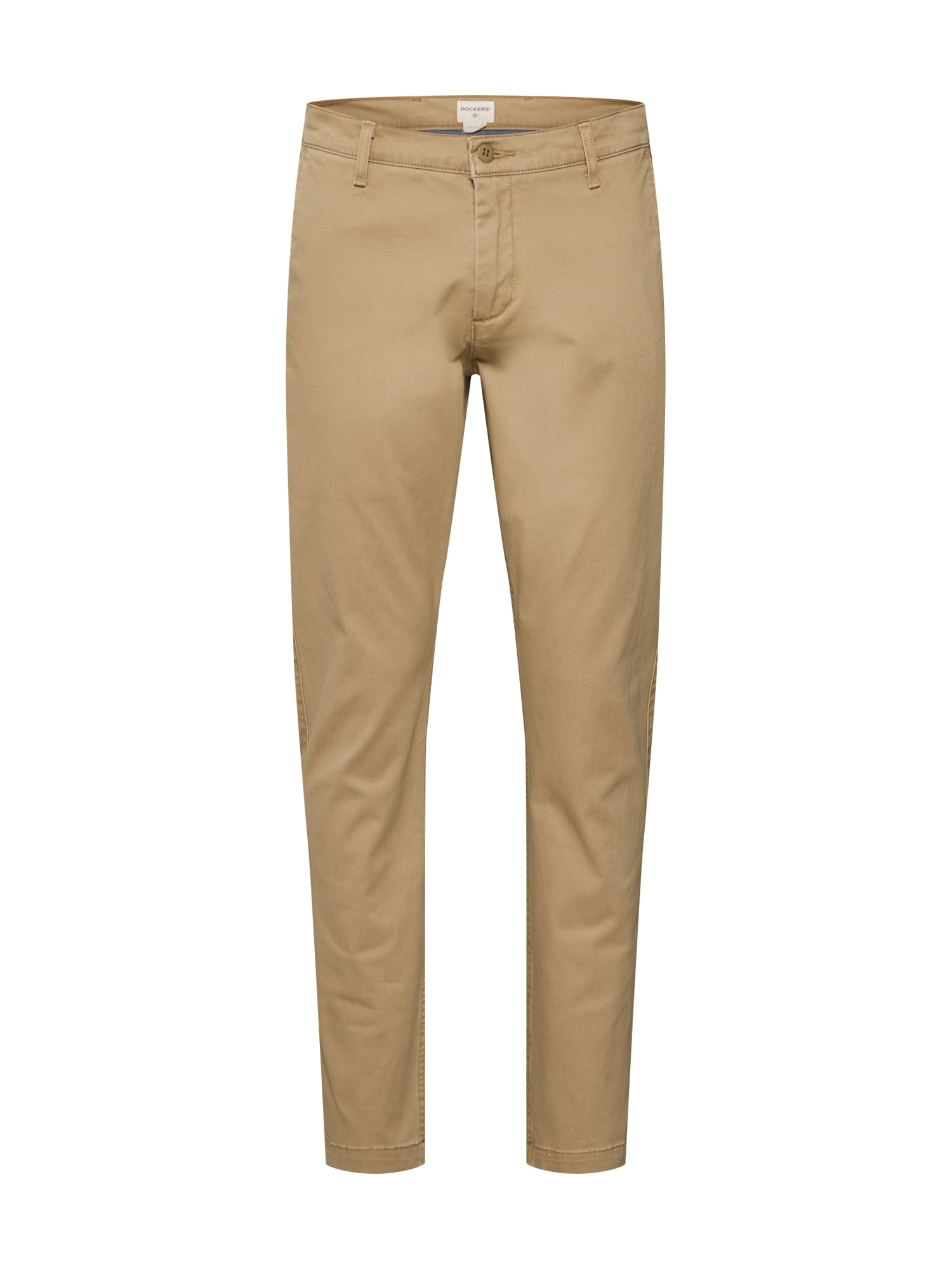 Kalhoty WASHED KHAKI SLIM (TAPERED) - STRETCH TWILL khaki Dockers