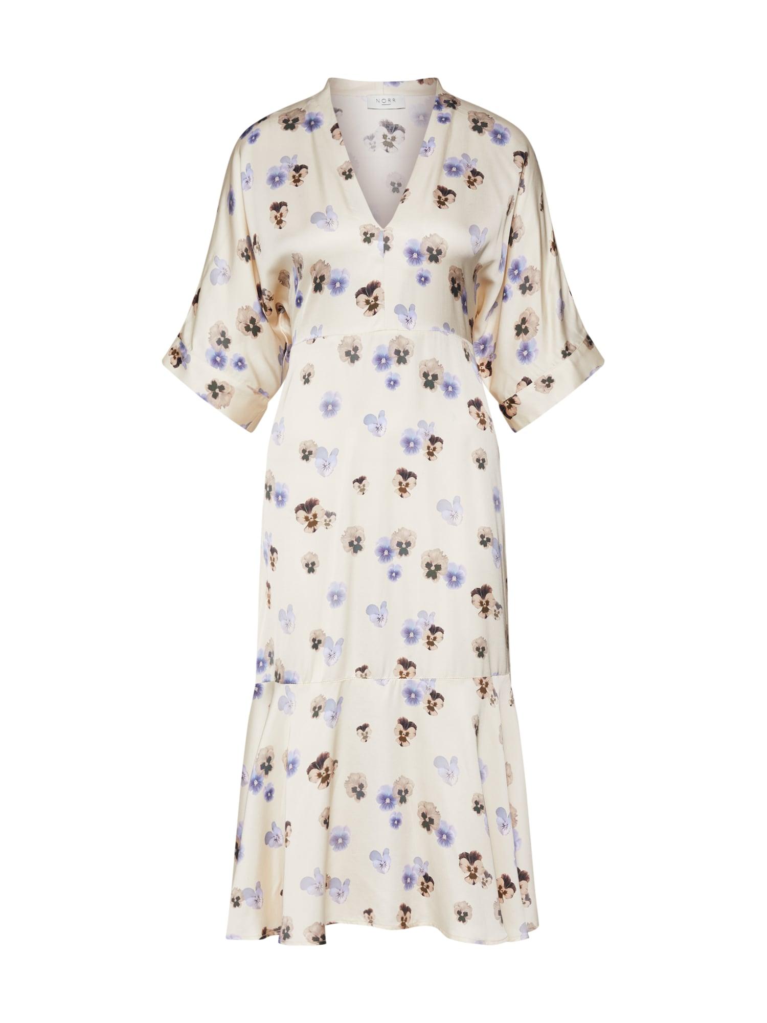 Letní šaty Fabiola krémová NORR