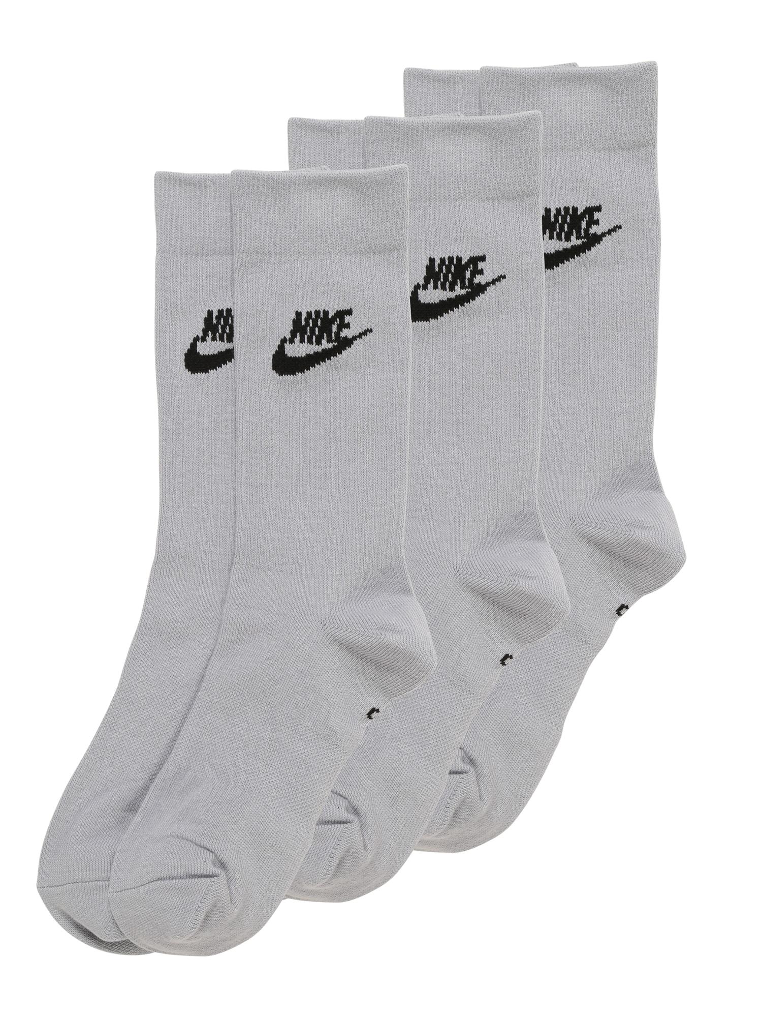 Ponožky šedá černá Nike Sportswear