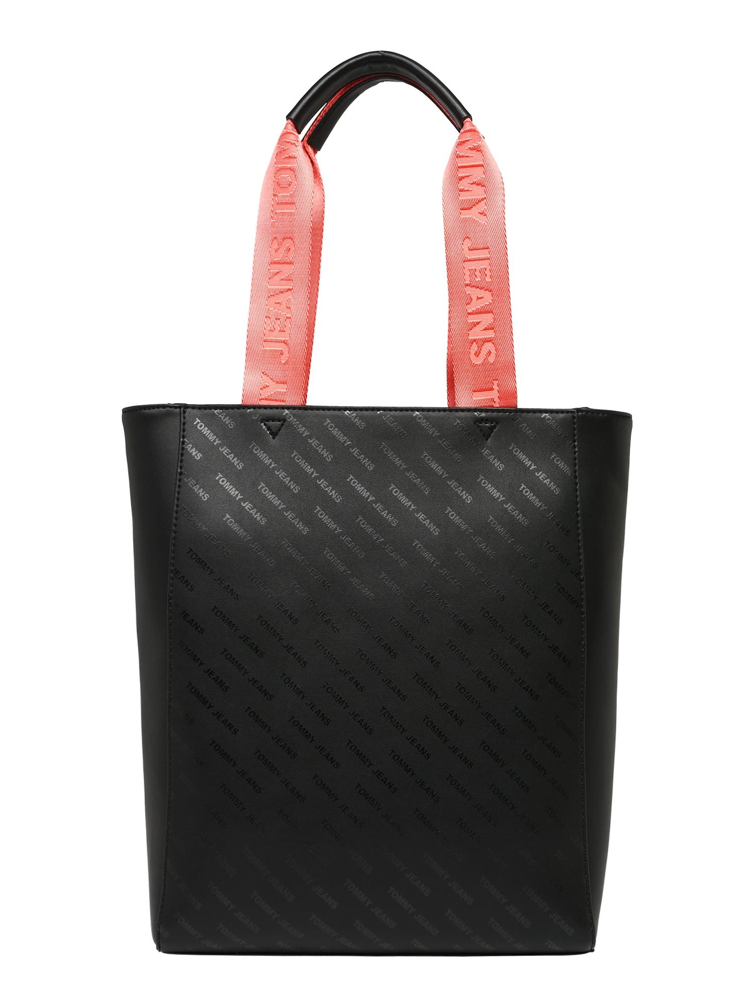 Nákupní taška TJW Hype Girl NS Tote černá Tommy Jeans