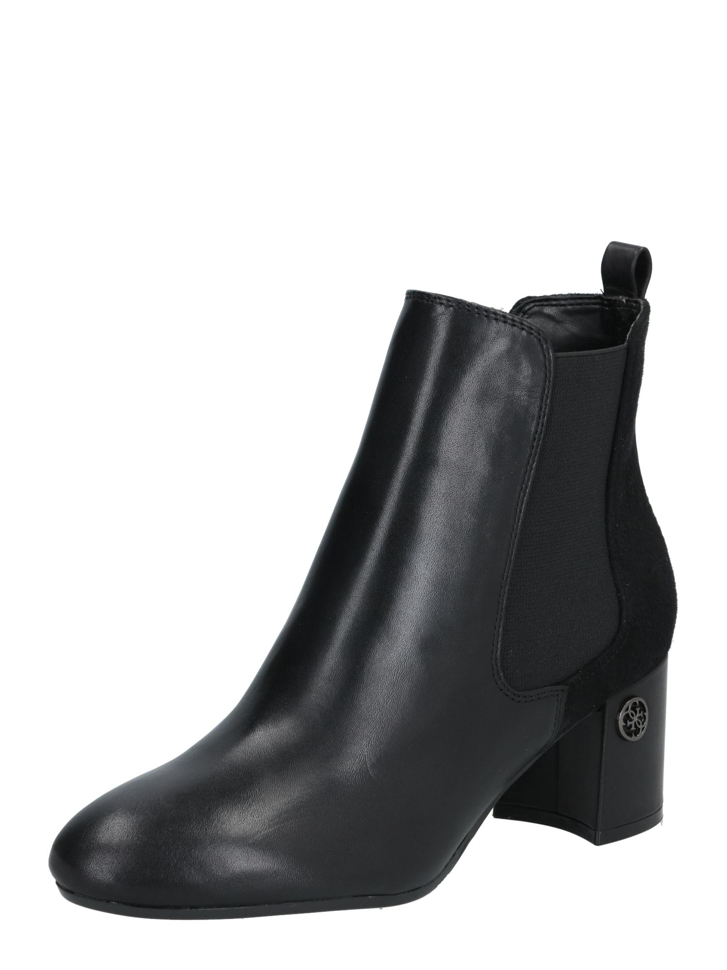 GUESS Členkové čižmy 'Acurn'  čierna