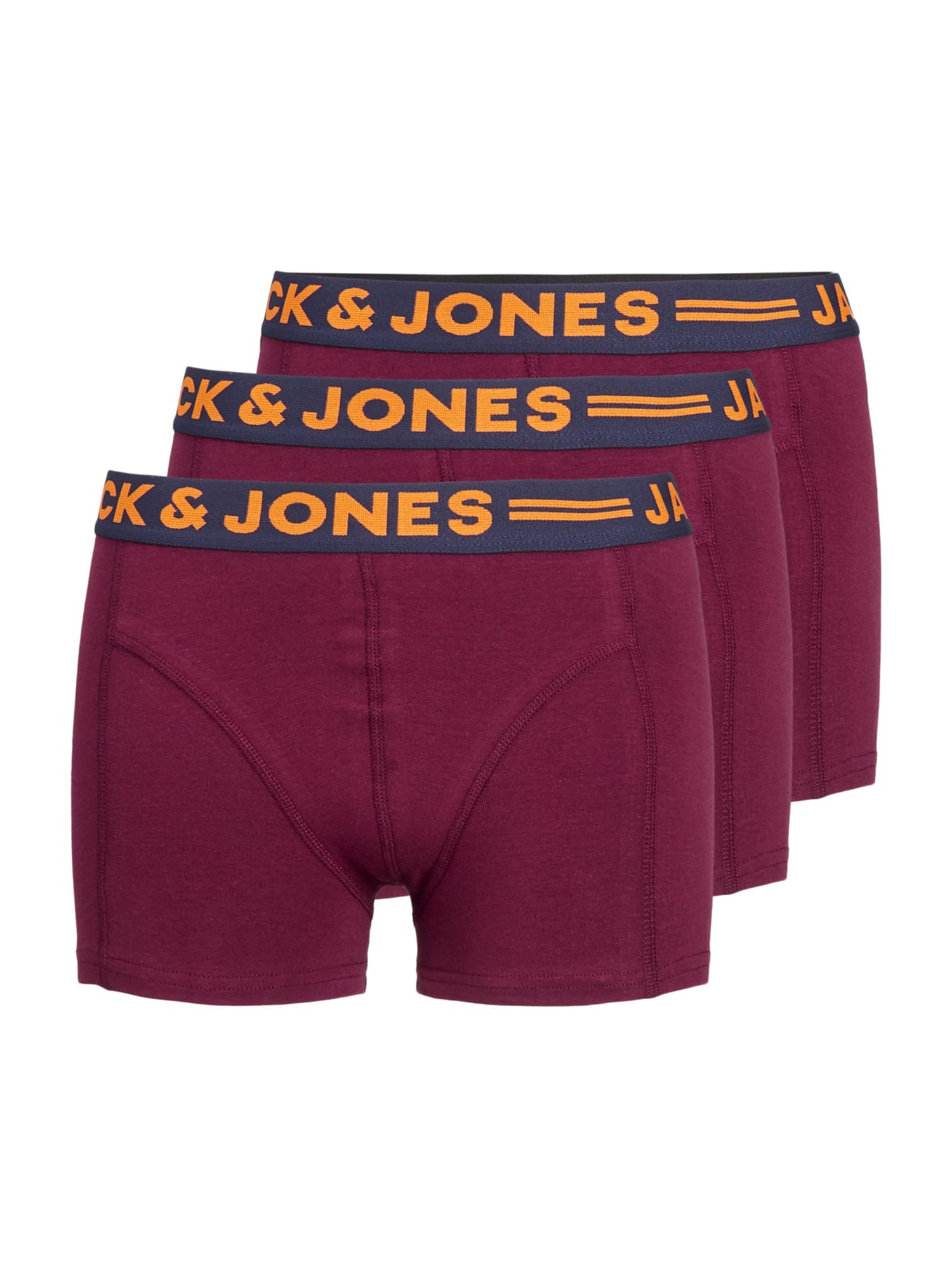 Spodní prádlo LICHFIELD burgundská červeň Jack & Jones Junior