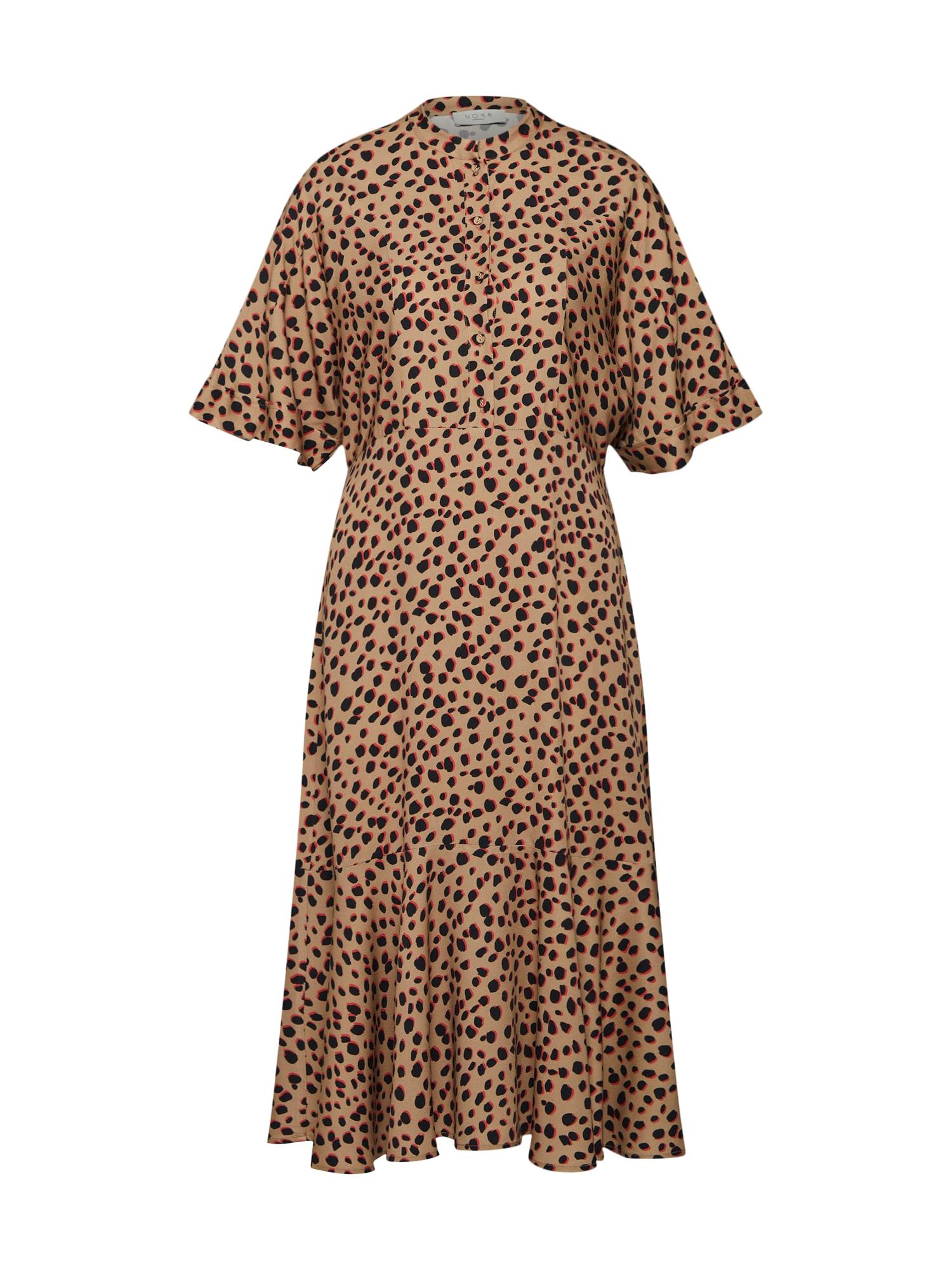 Šaty Lilo Dress béžová NORR