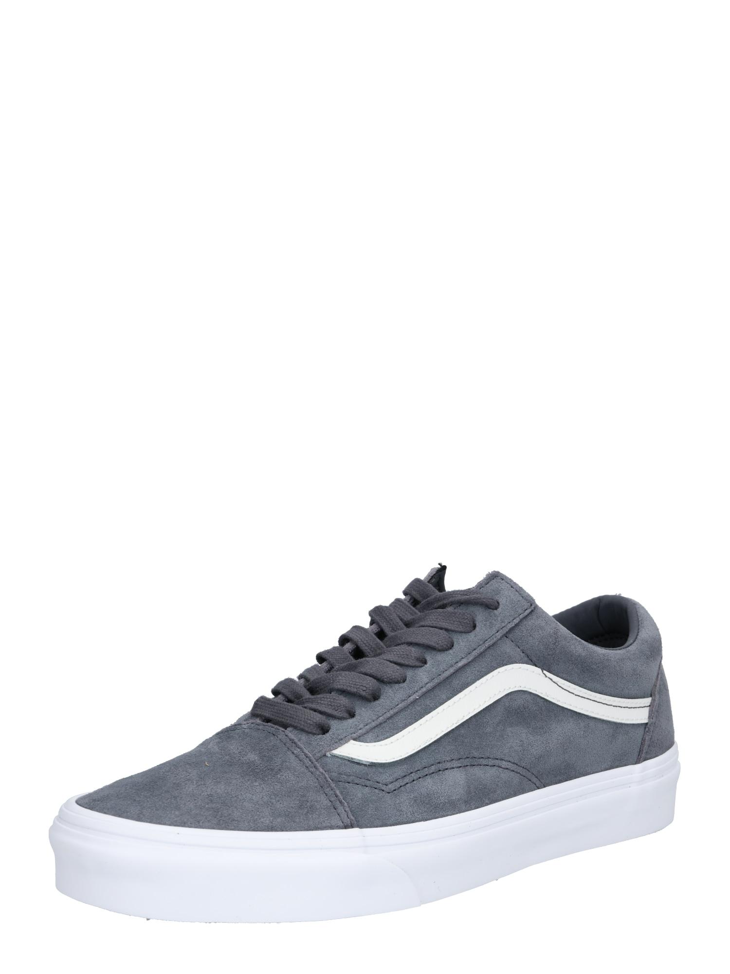VANS, Heren Sneakers laag 'Old Skool', basaltgrijs / wit