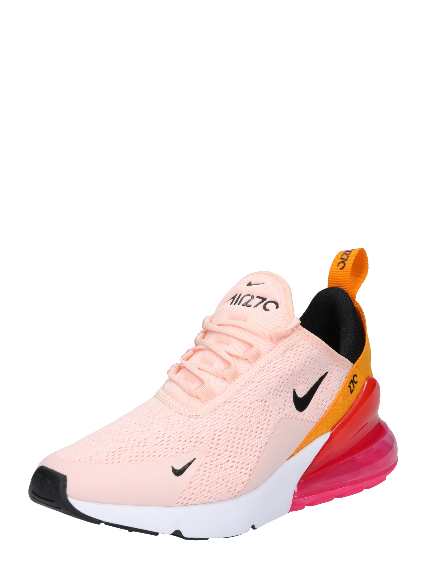 Nike Sportswear, Dames Sneakers laag 'Air Max 270', rosa / rood / wit