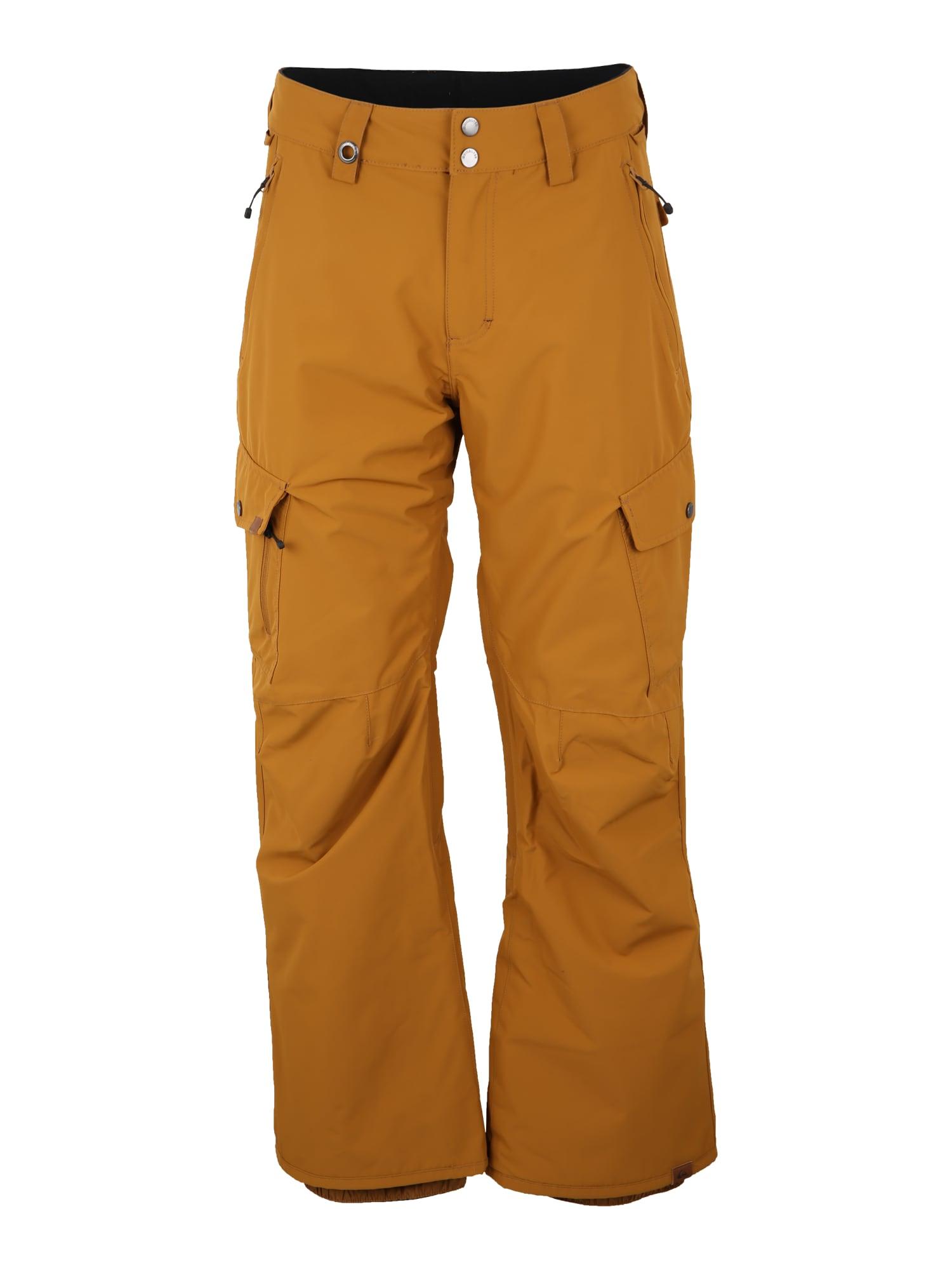 Outdoorové kalhoty PORTER koňaková QUIKSILVER