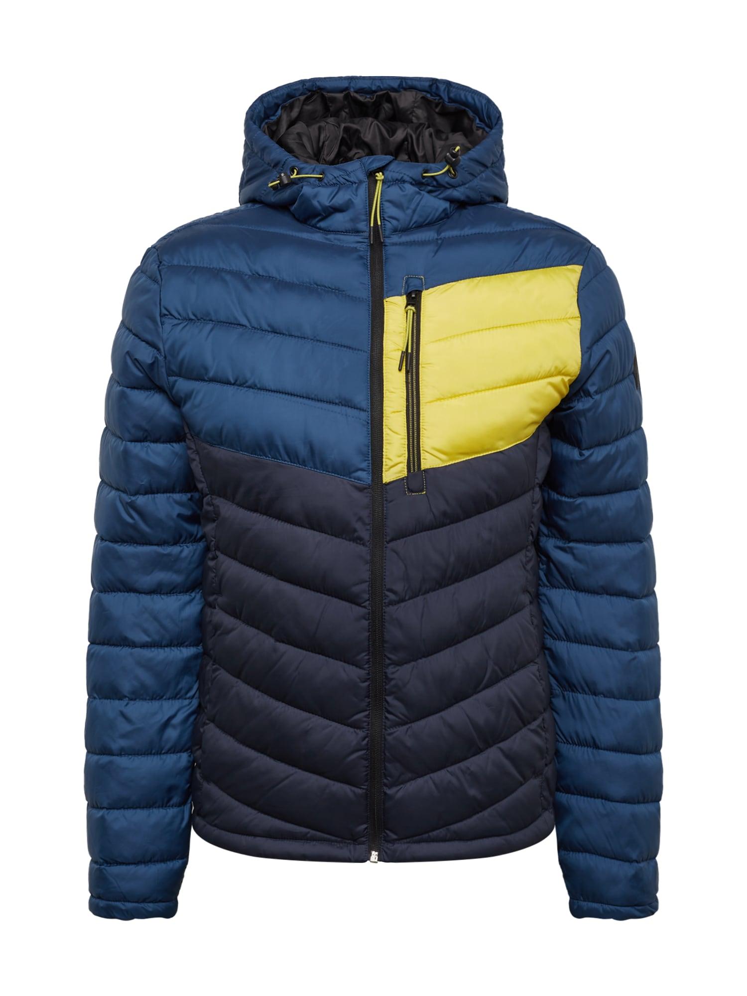 Zimní bunda tmavě modrá TOM TAILOR
