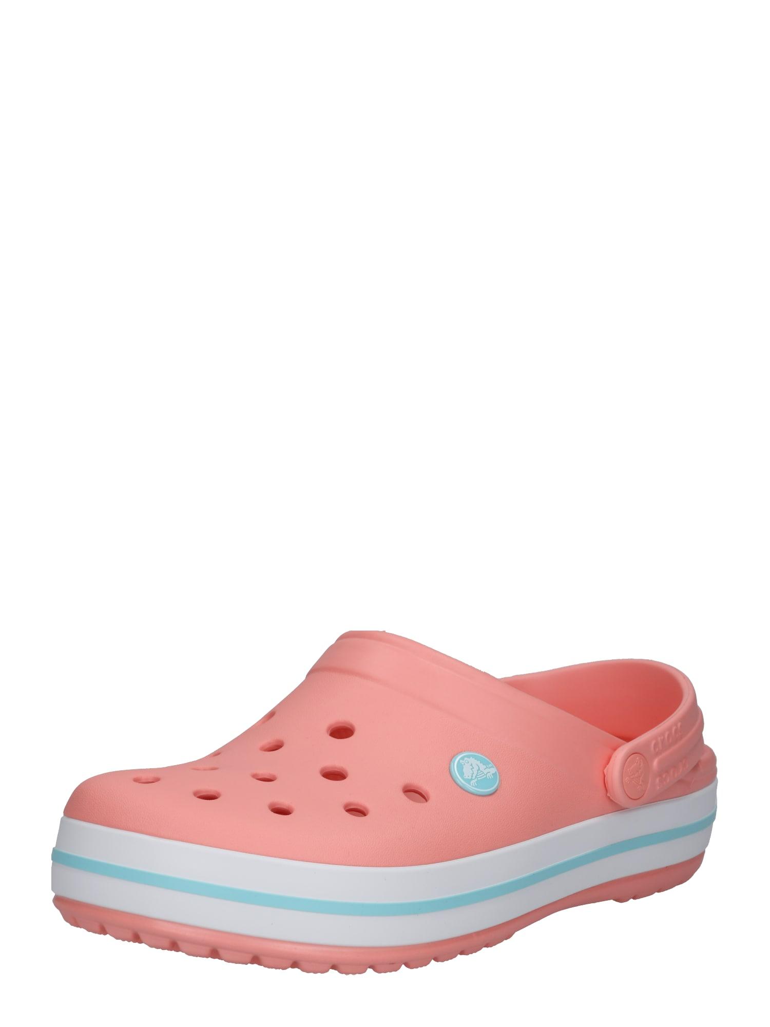 Pantofle Crocband korálová Crocs