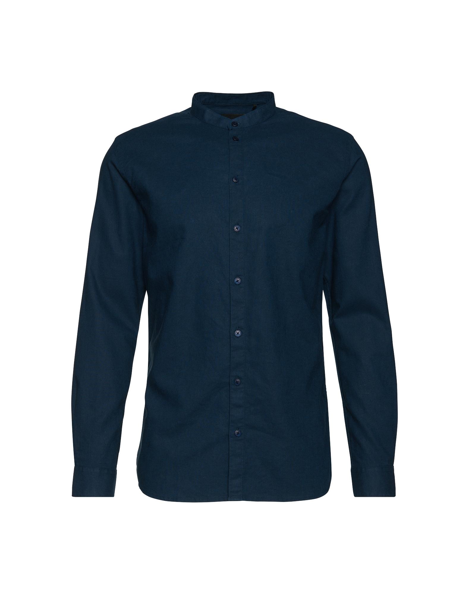 Minimum Košile 'Jeromy B'  tmavě modrá