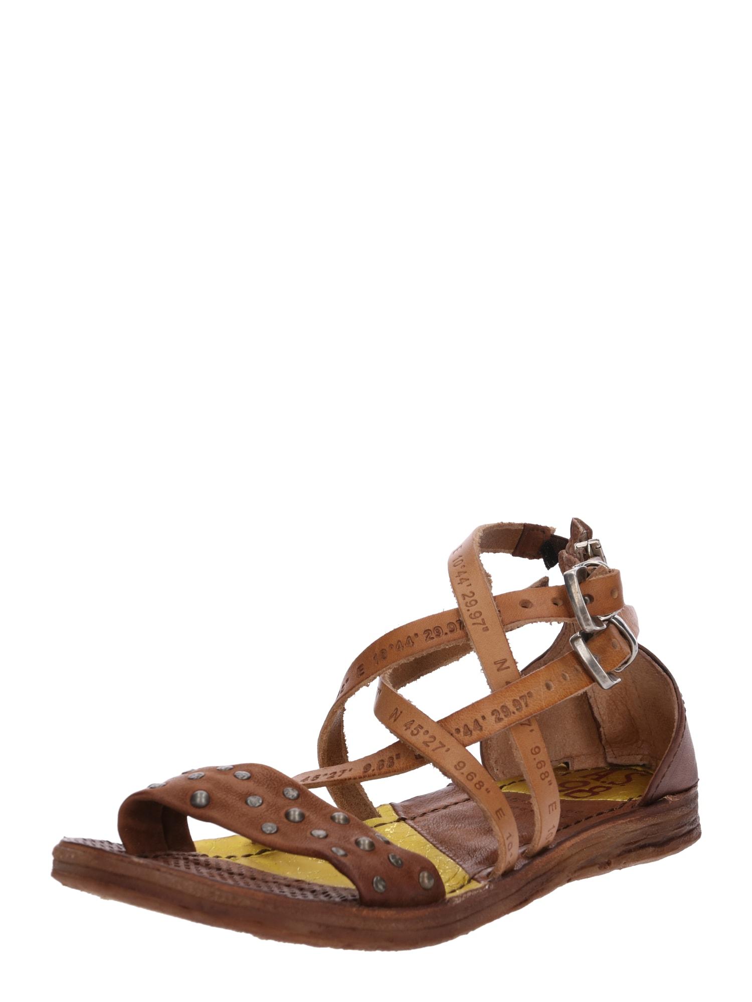 Sandály Sandale RAMOS koňaková A.S.98