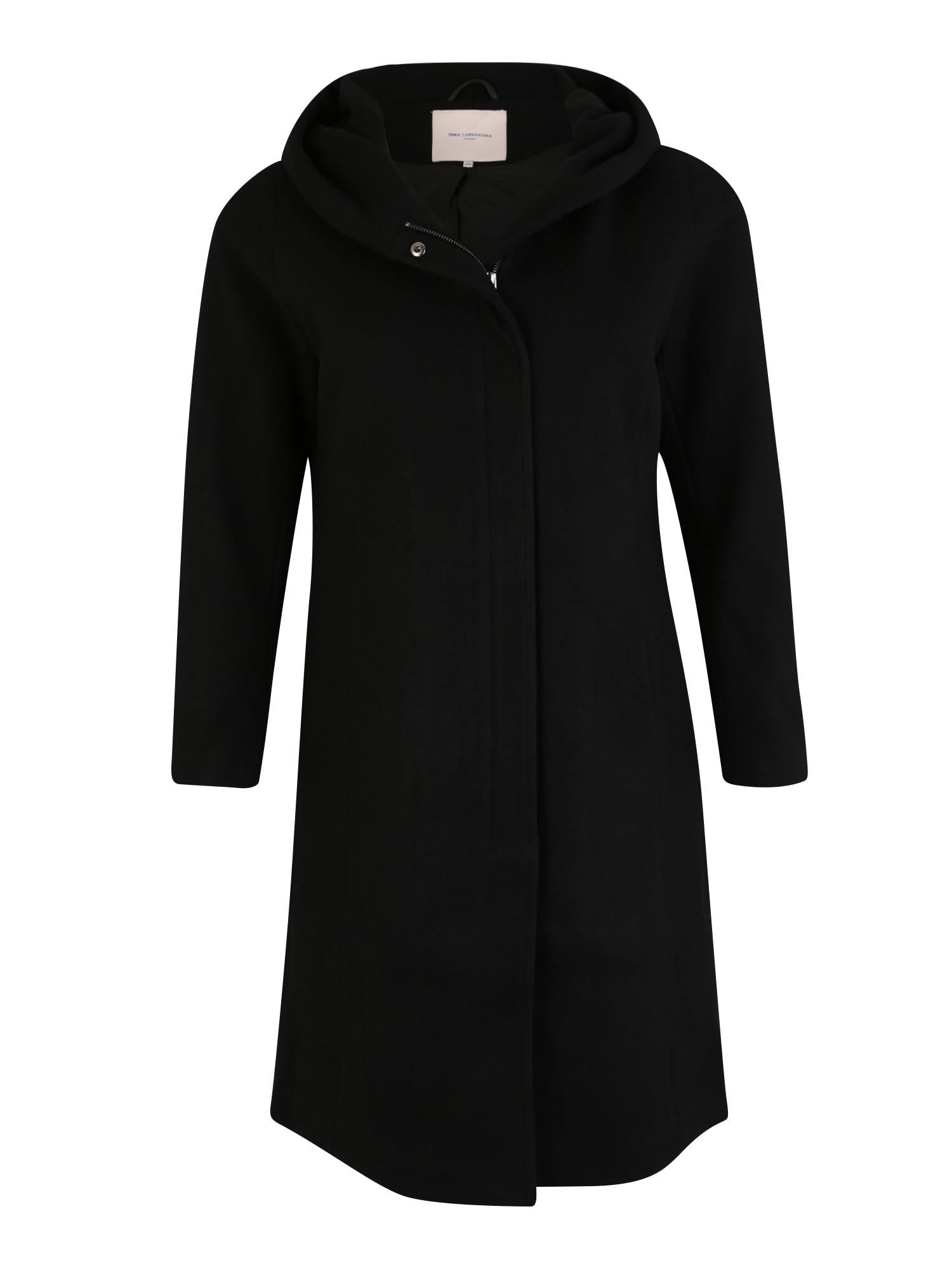 Přechodný kabát CARSEDONA černá ONLY Carmakoma