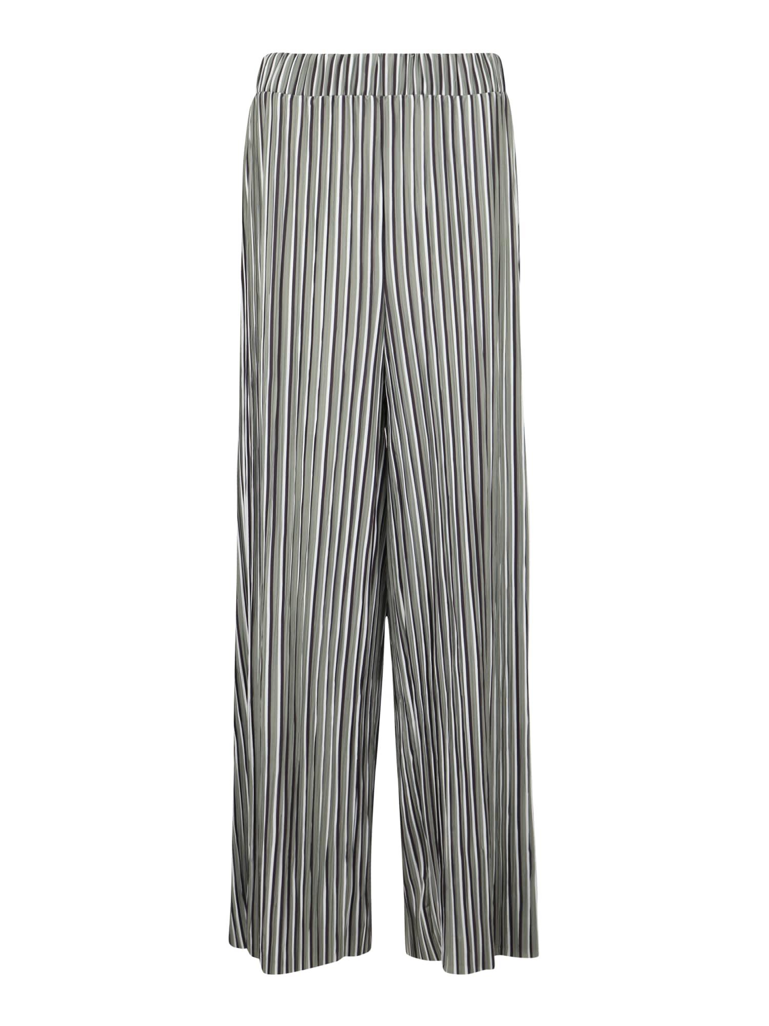 Kalhoty stříbrná Junarose
