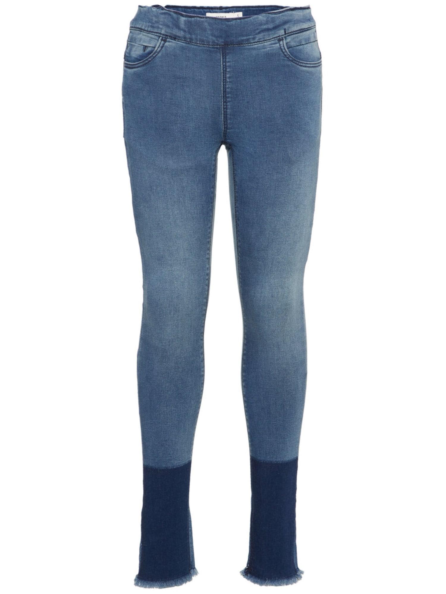 NAME IT Kids Skinny Fit Superstretch Legging Blauw