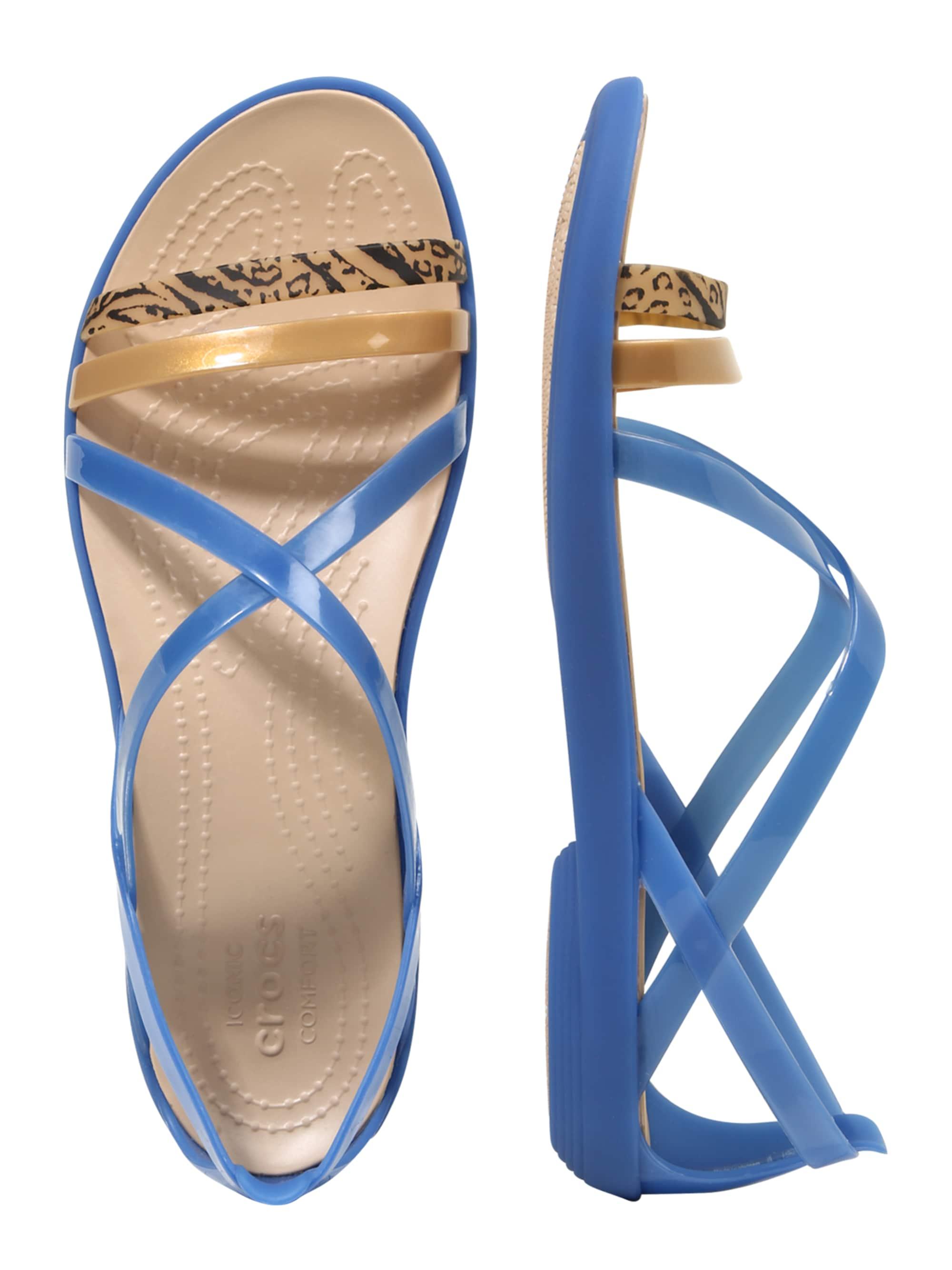 Crocs Sandały z rzemykami 'Isabella'  niebieski