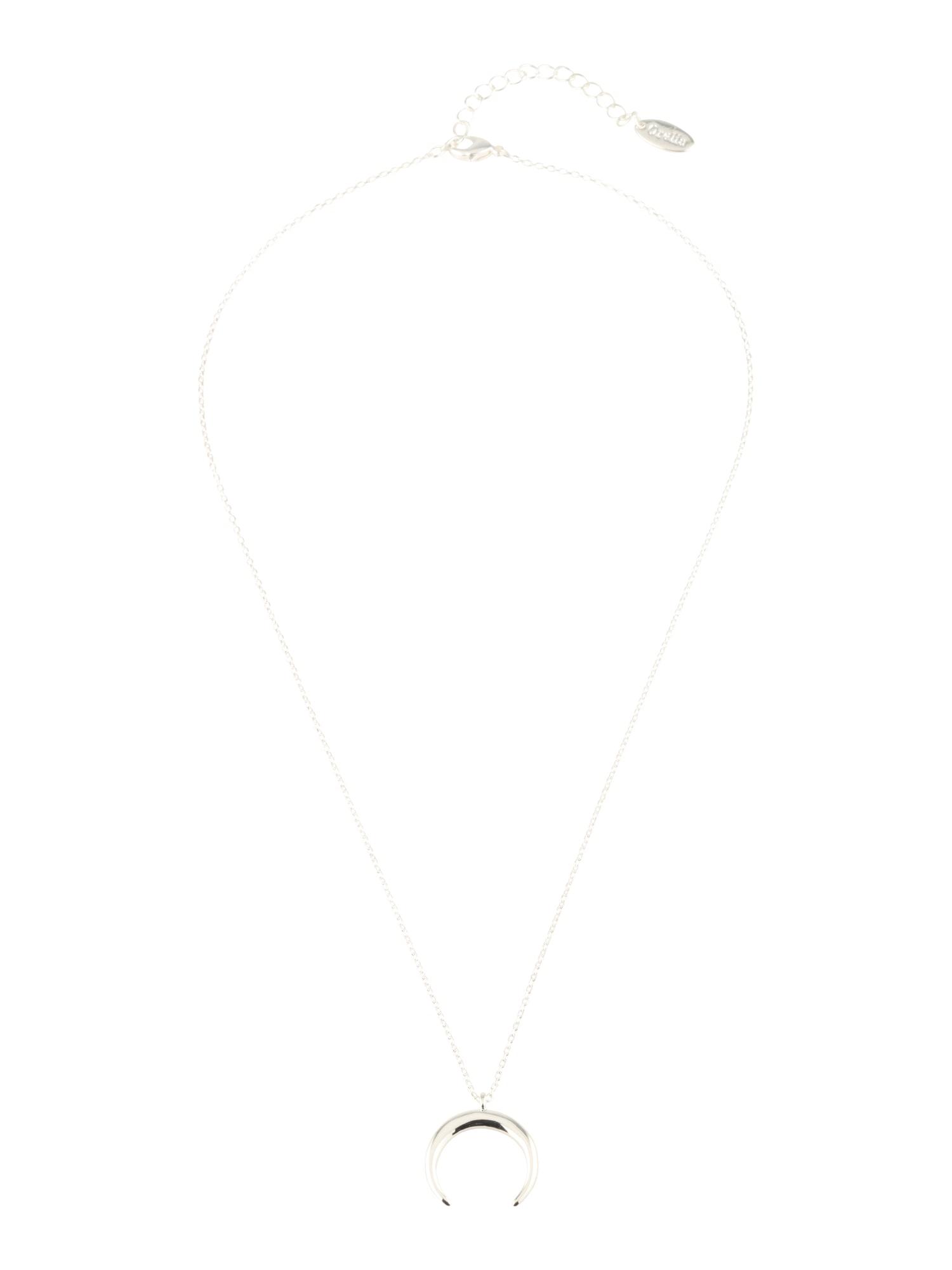 Řetízek Crescent Ditsy stříbrná Orelia