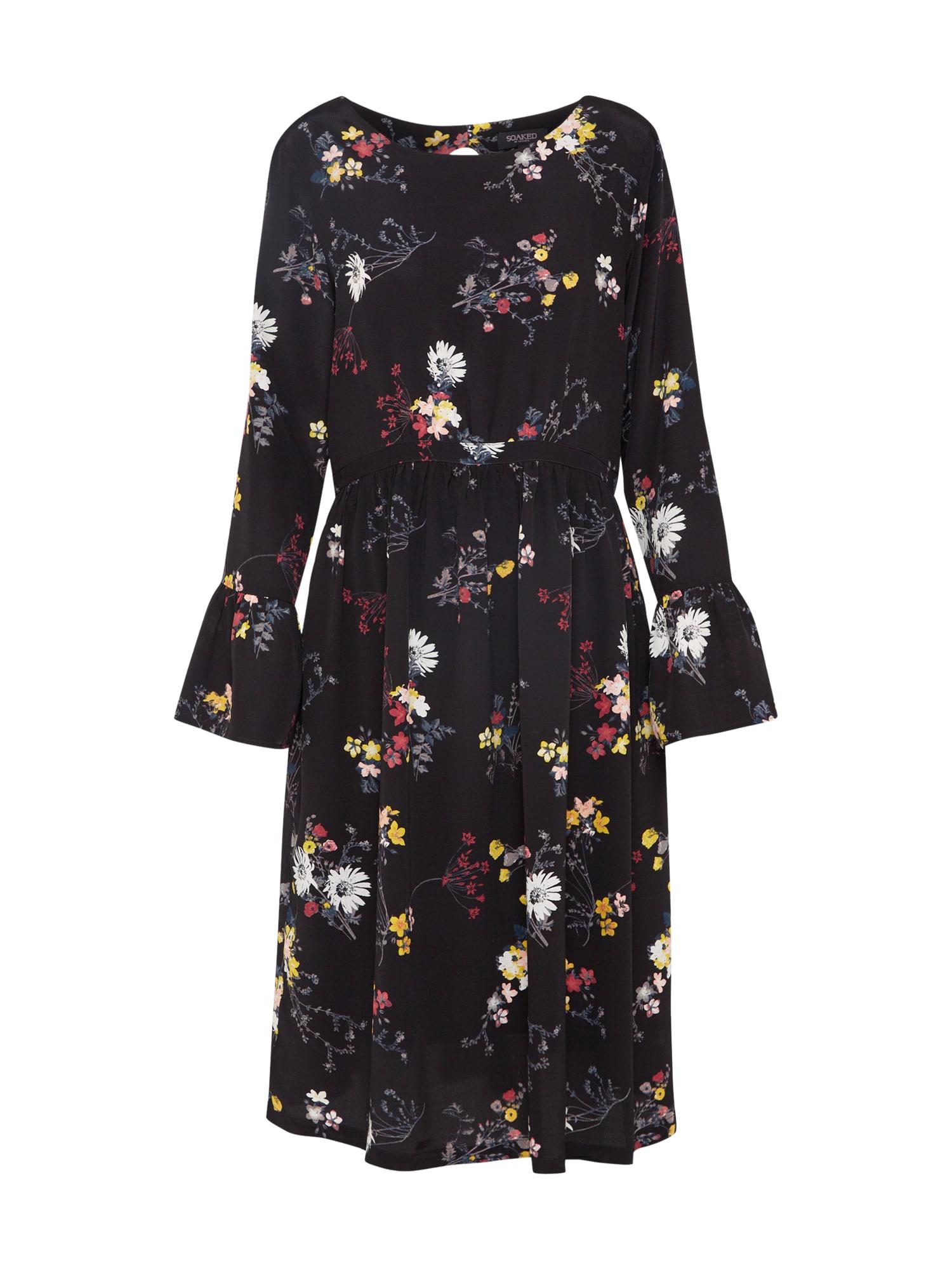 Šaty Hanne mix barev černá SOAKED IN LUXURY