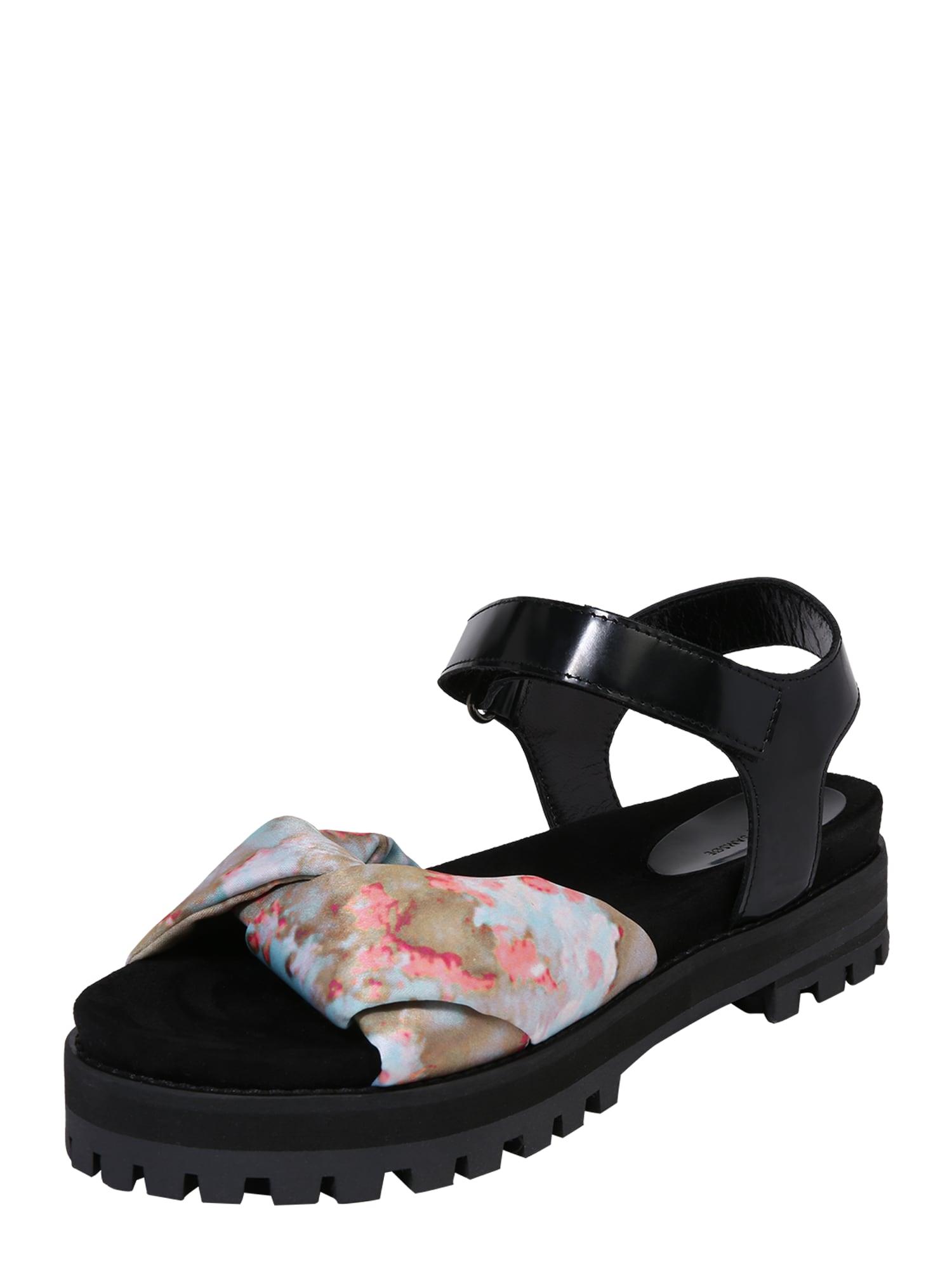 Sandály GRETA  mix barev černá Samsoe & Samsoe