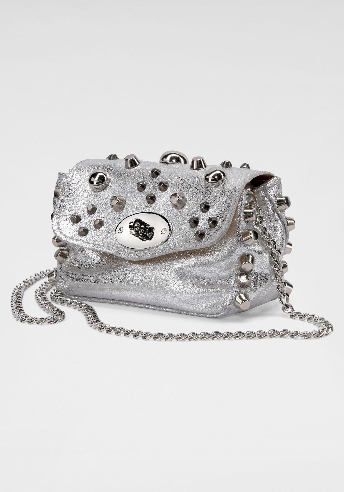 Abendtasche   Taschen > Handtaschen > Abendtaschen   Silber   Guido Maria Kretschmer