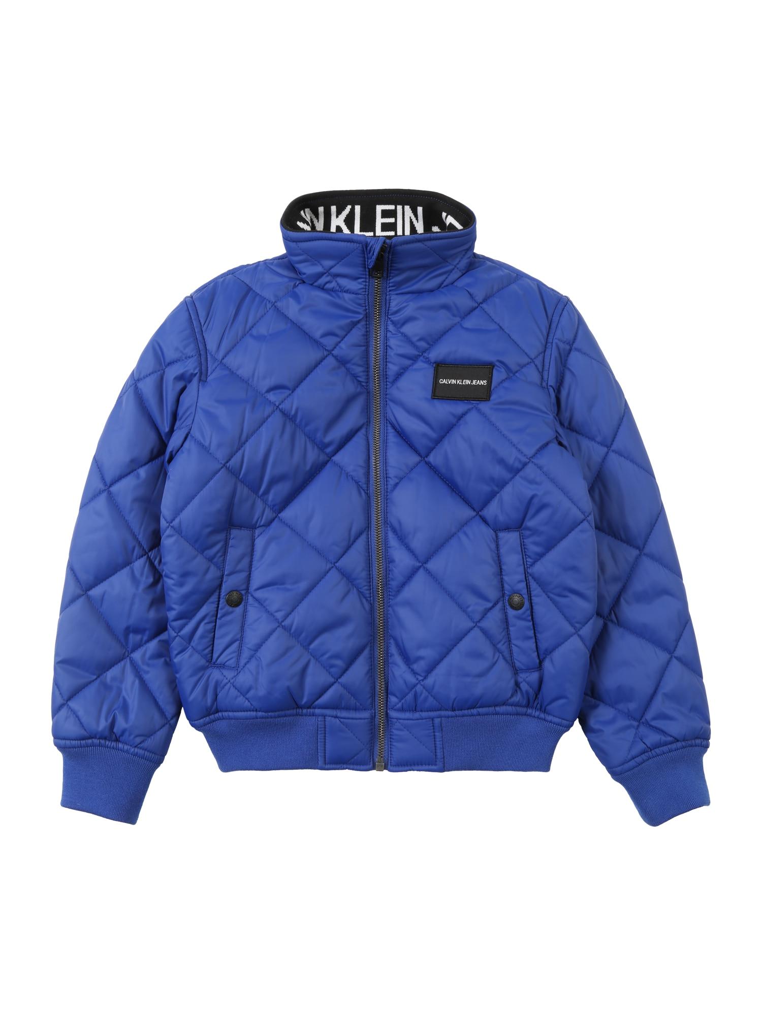 Přechodná bunda modrá Calvin Klein Jeans