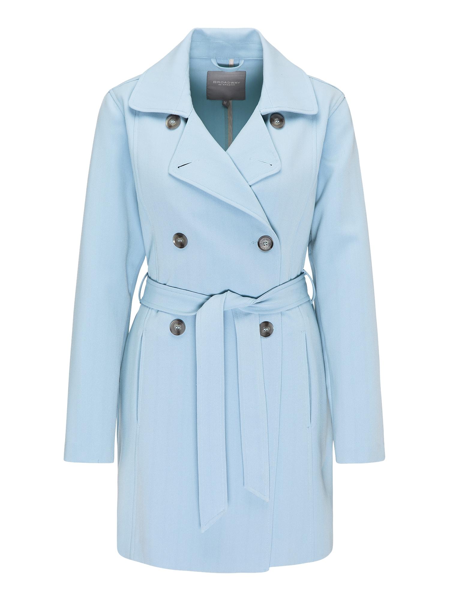 Přechodný kabát NATOSHA světlemodrá BROADWAY NYC FASHION
