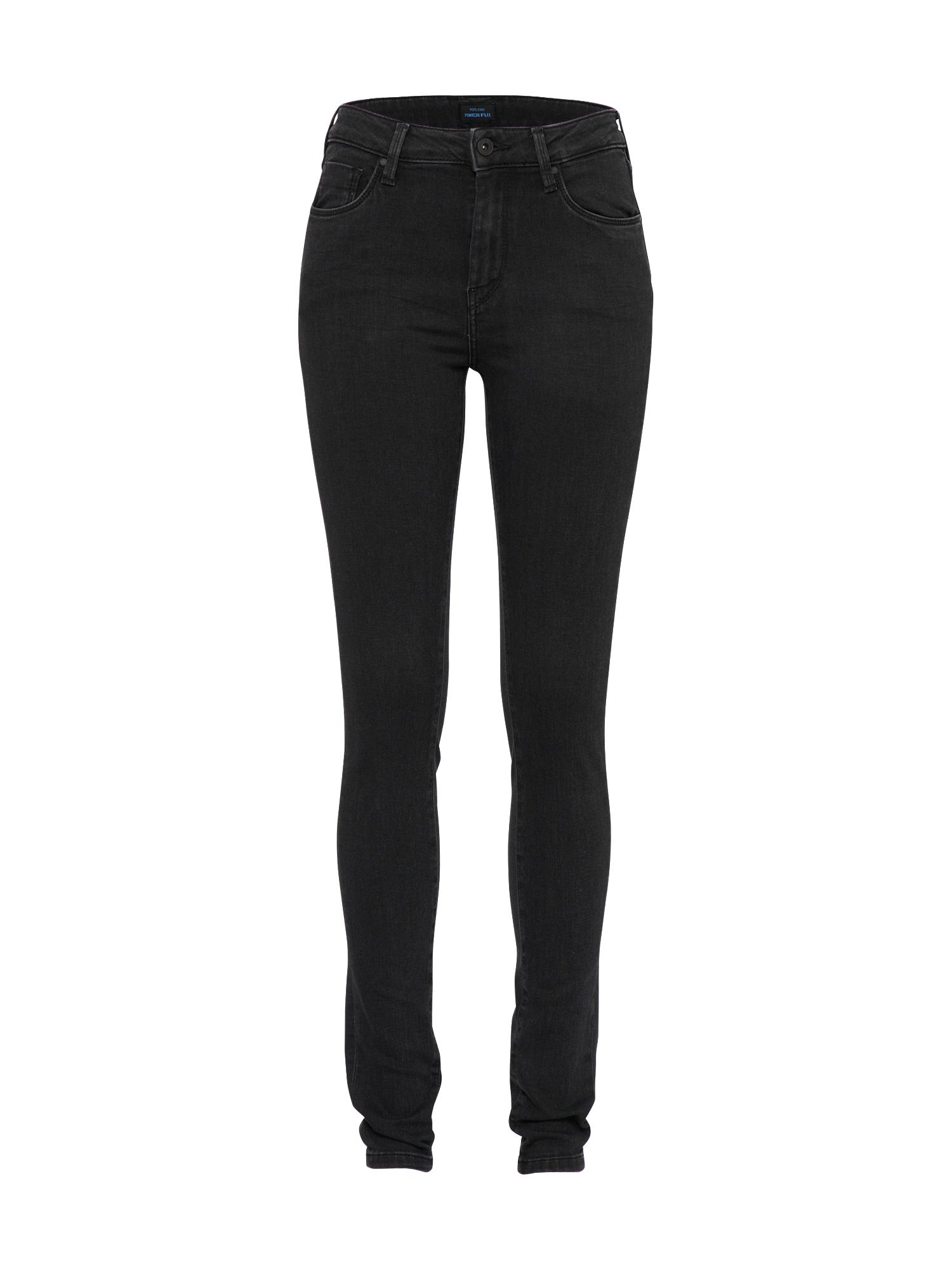 Pepe Jeans Dames Jeans Regent black denim
