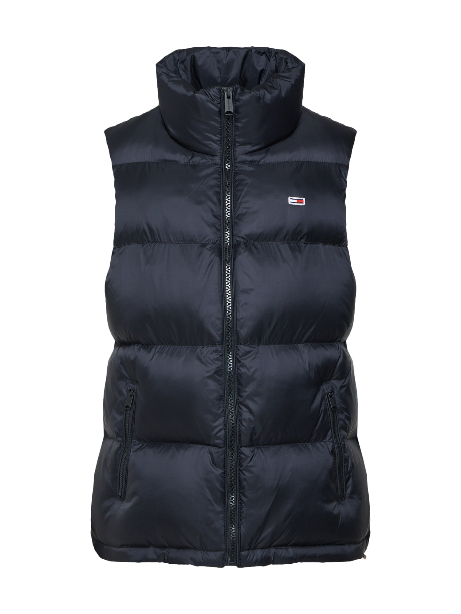 Tommy Jeans, Dames Bodywarmer, zwart