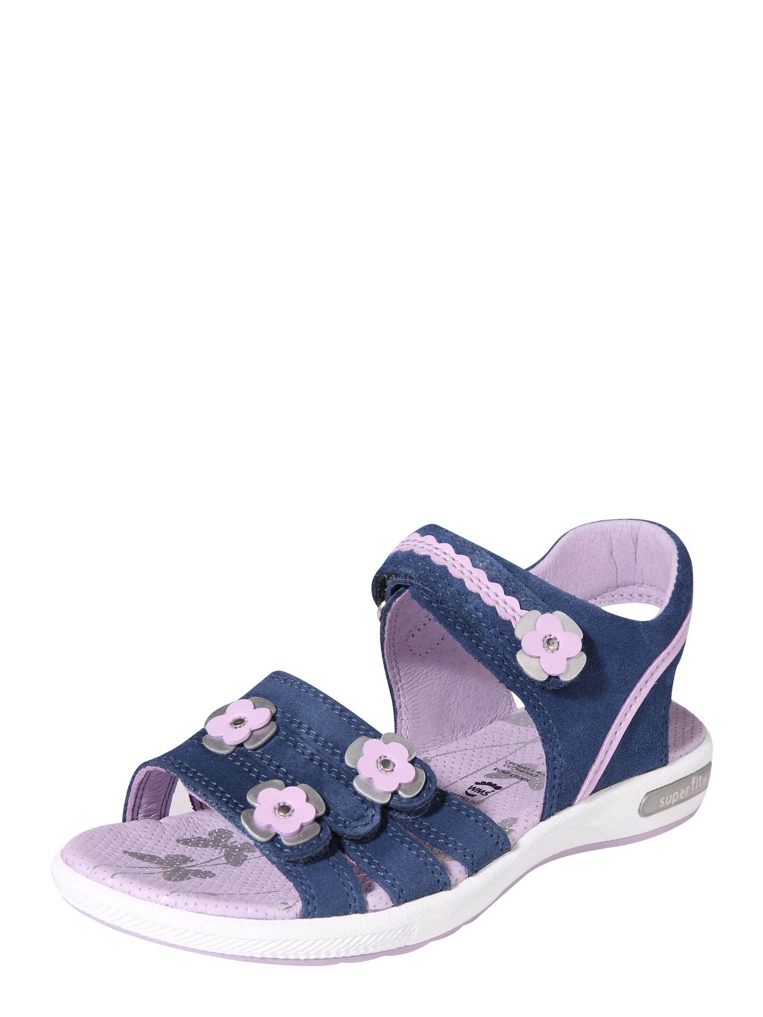 Sandály Emily modrá fialová SUPERFIT