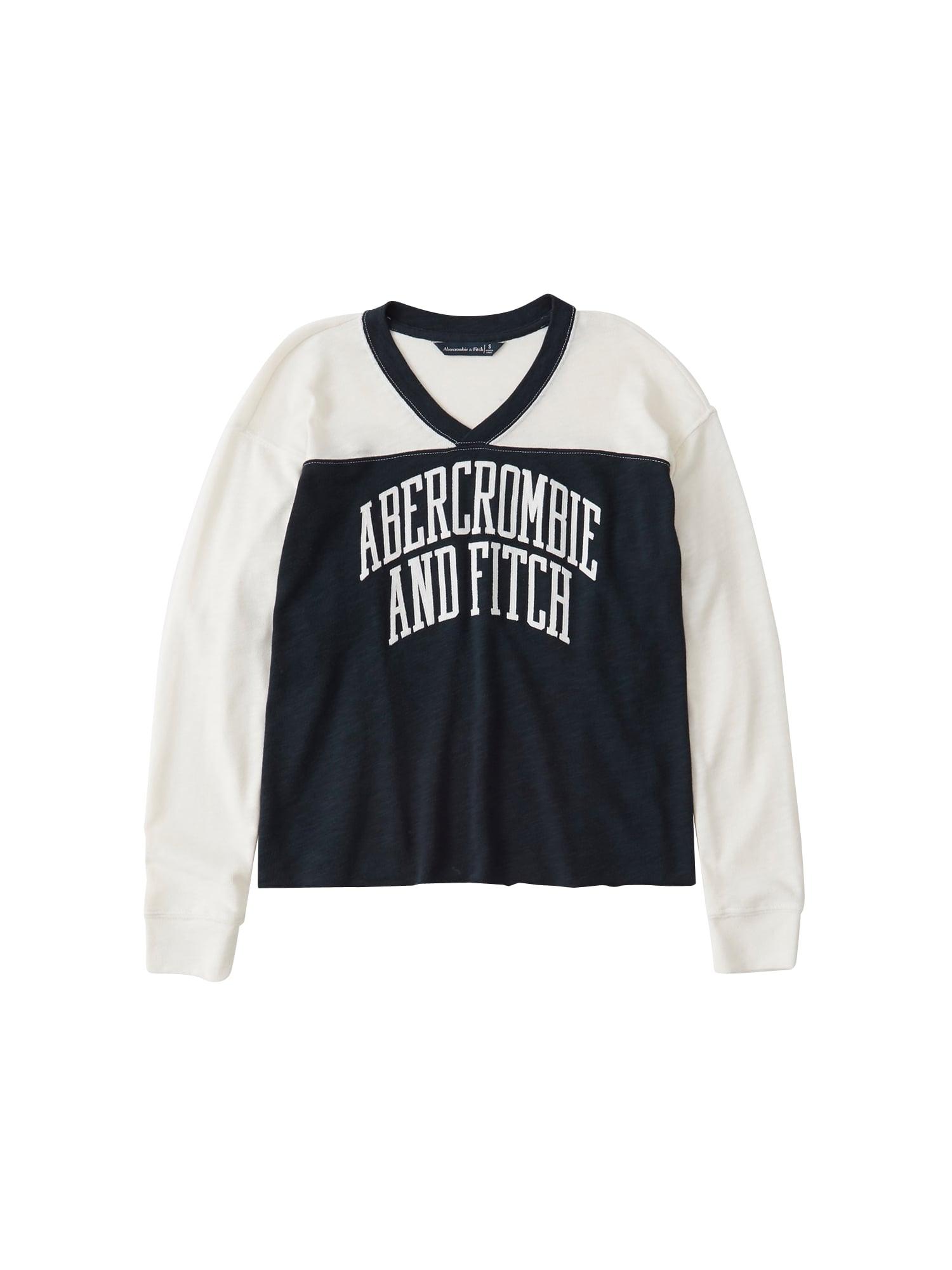 Abercrombie & Fitch Tričko 'SB19-LS TECH LOGO TEE'  námořnická modř