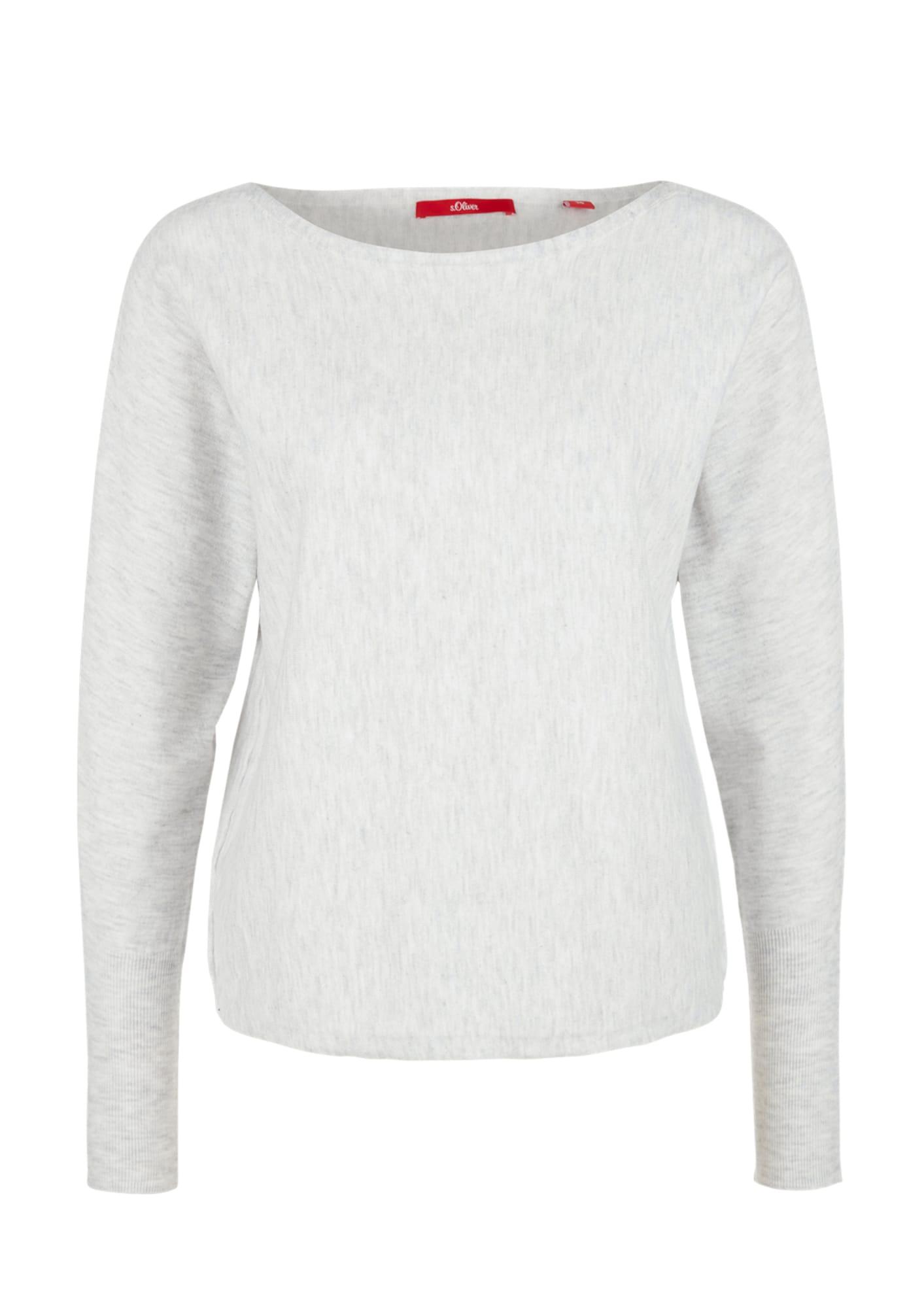 Pullover | Bekleidung > Pullover > Sonstige Pullover | Hellgrau | S.Oliver