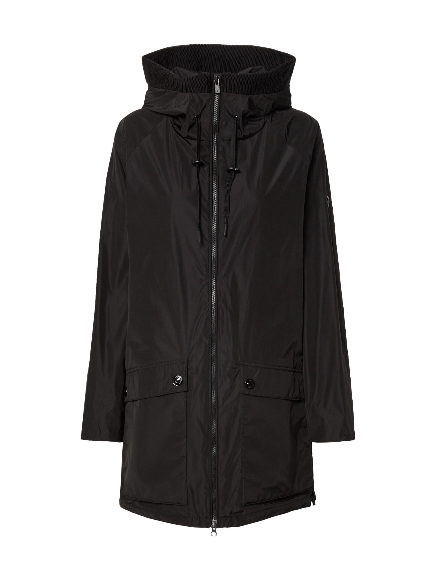 PEAK PERFORMANCE Přechodný kabát 'STELLASUJ'  černá