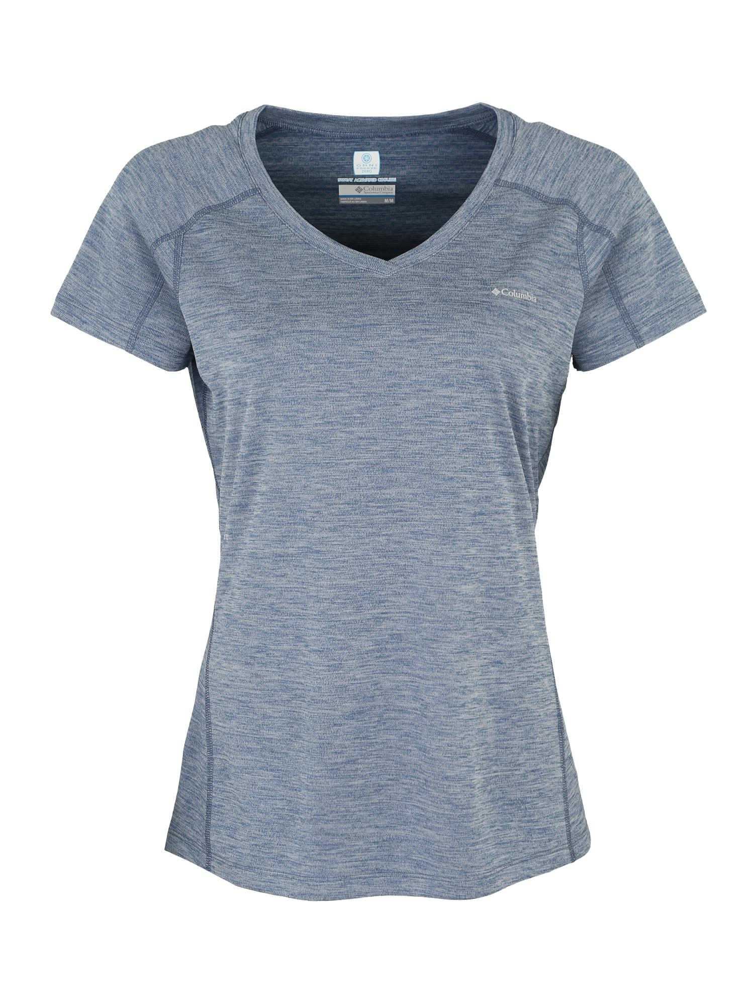 Funkční tričko Zero Rules modrá COLUMBIA