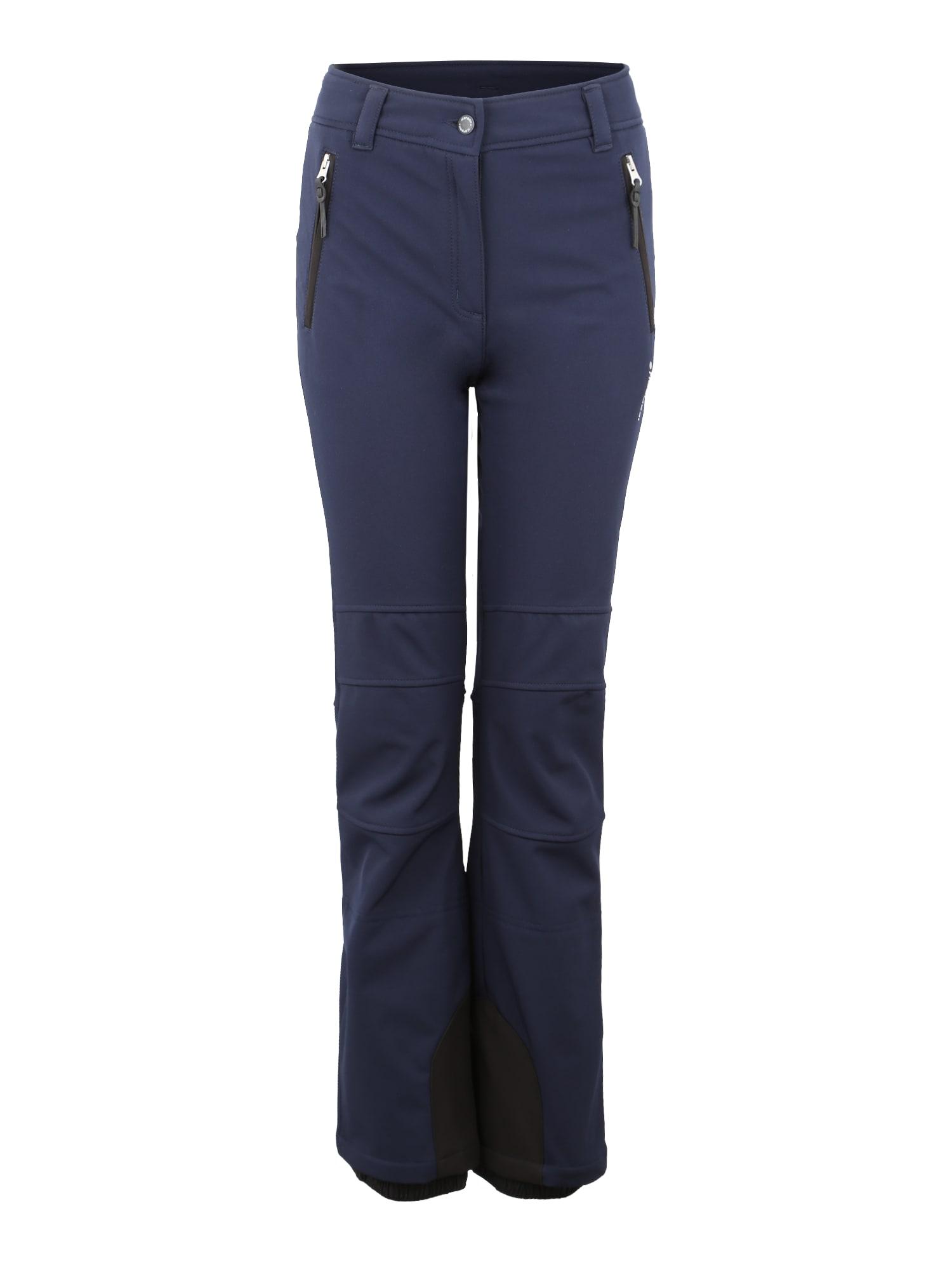 Outdoorové kalhoty Outi námořnická modř ICEPEAK