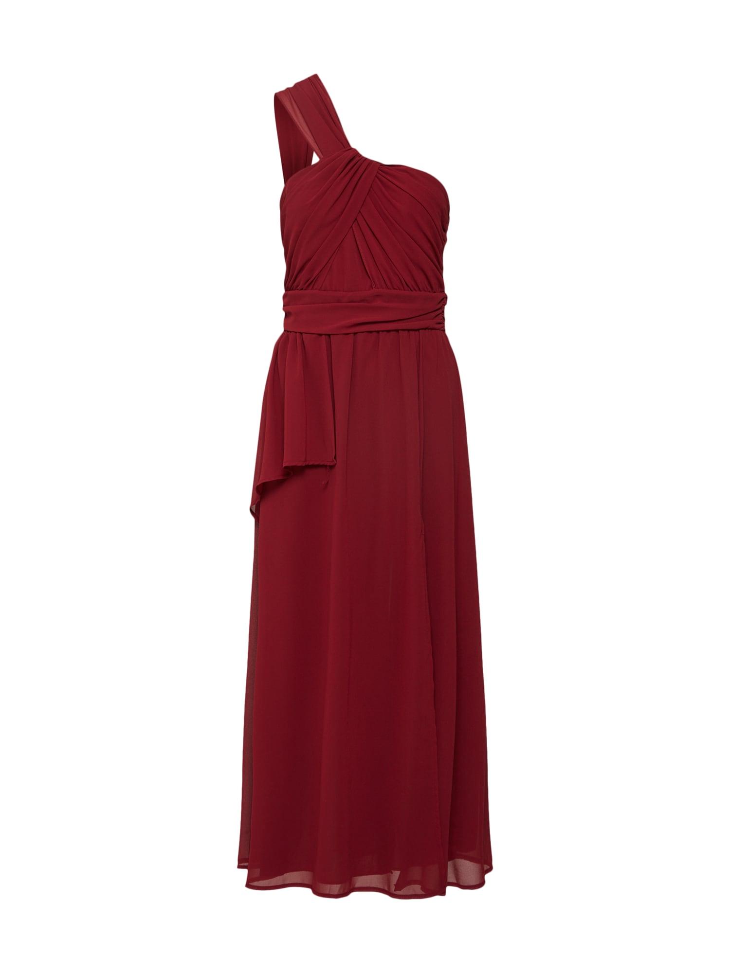 Koktejlové šaty OLIVI rubínově červená TFNC