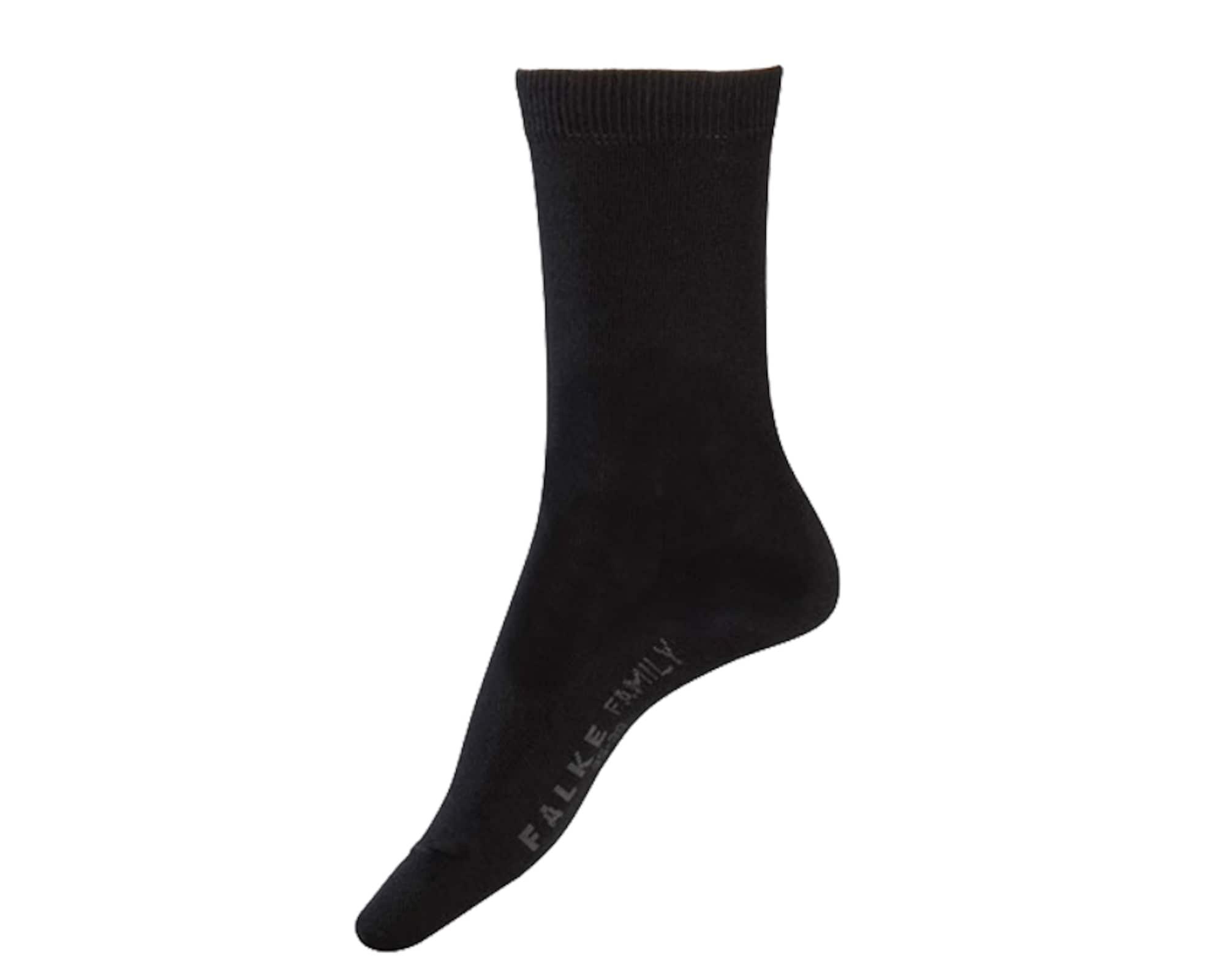 Ponožky Family šedá černá FALKE
