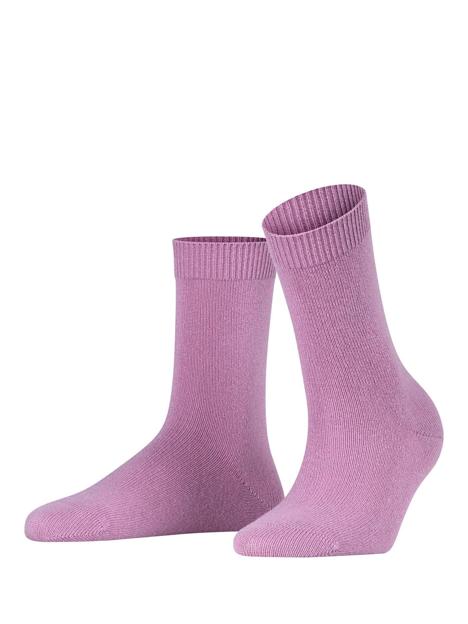 Ponožky Cosy Wool růžová FALKE