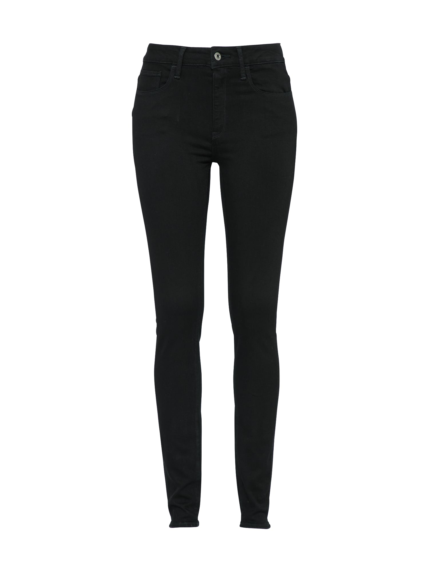 G-STAR RAW Dames Jeans 3301 Deconst black denim