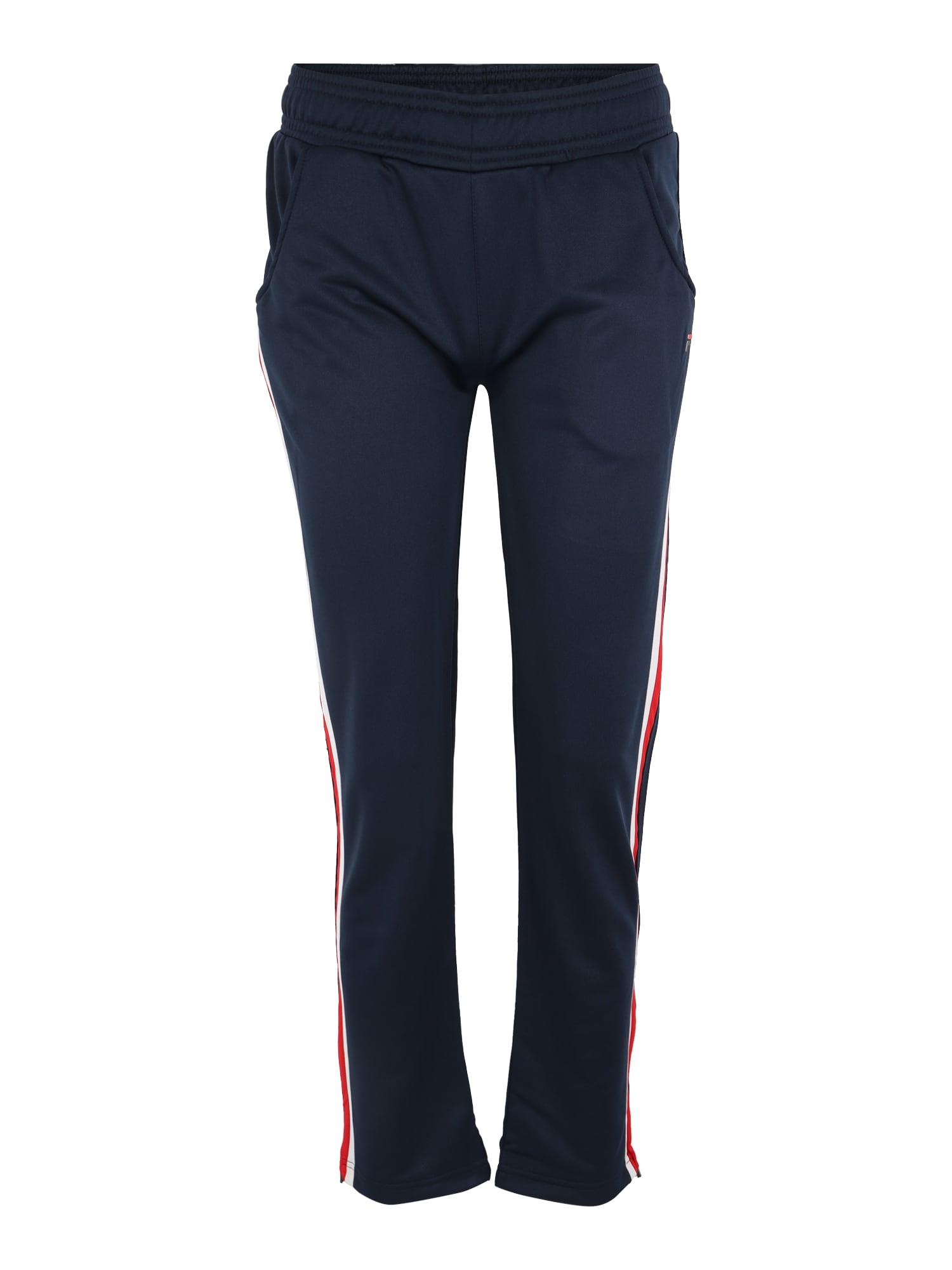 Sportovní kalhoty Palia námořnická modř červená bílá FILA