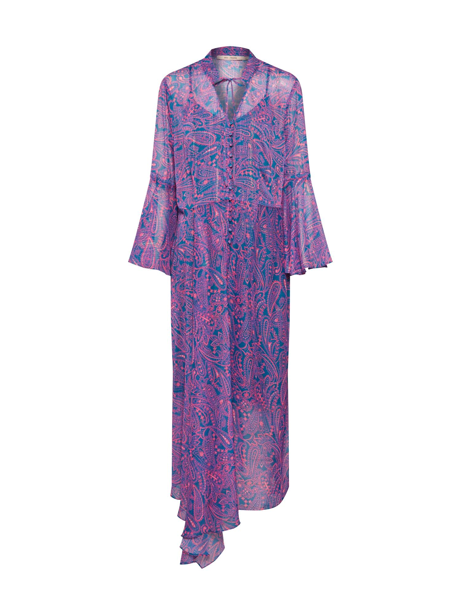 Šaty Paula modrá pink RUE De FEMME