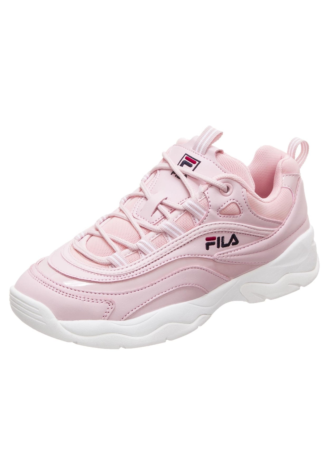 FILA, Dames Sneakers laag 'Ray F', rosa / wit