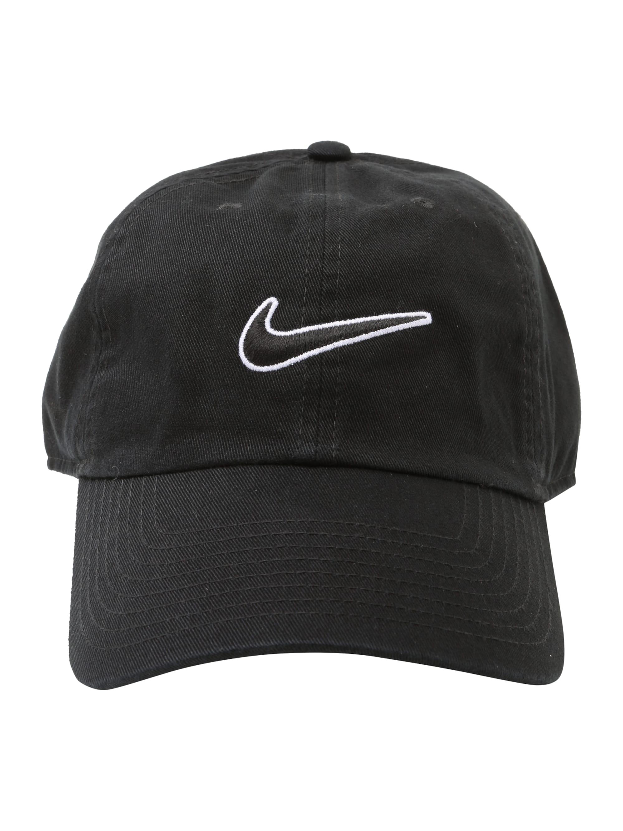 Nike Sportswear Czapka z daszkiem 'Heritage86'  czarny