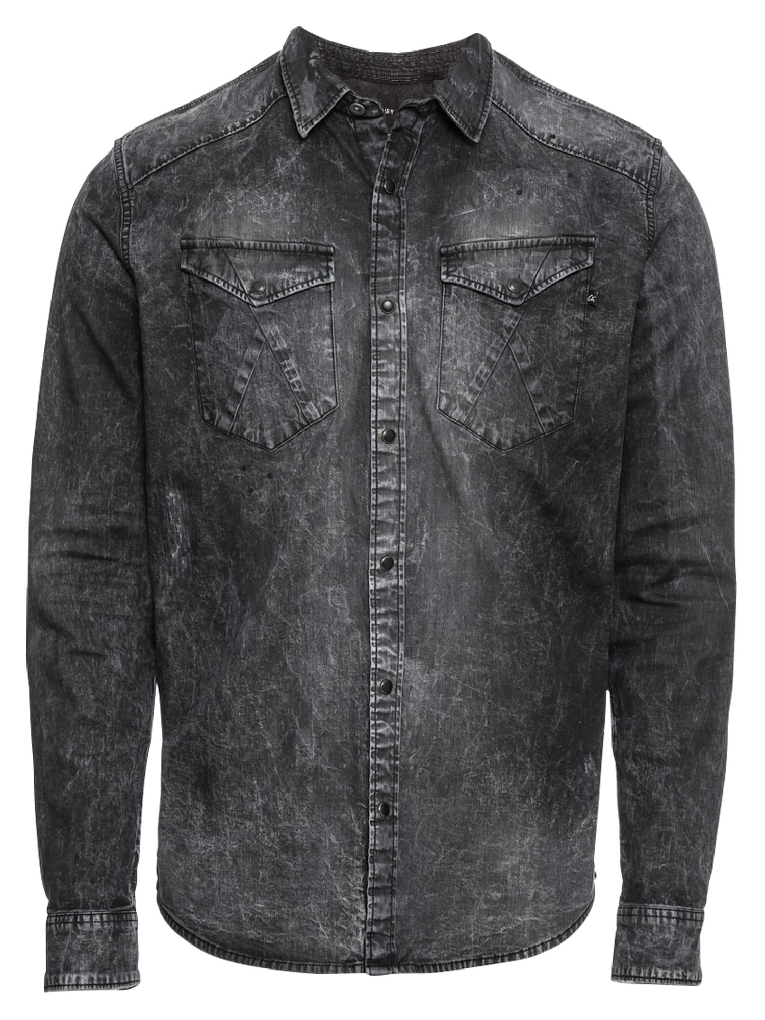 CHASIN Košile PRINCE COVE tmavě šedá CHASIN'