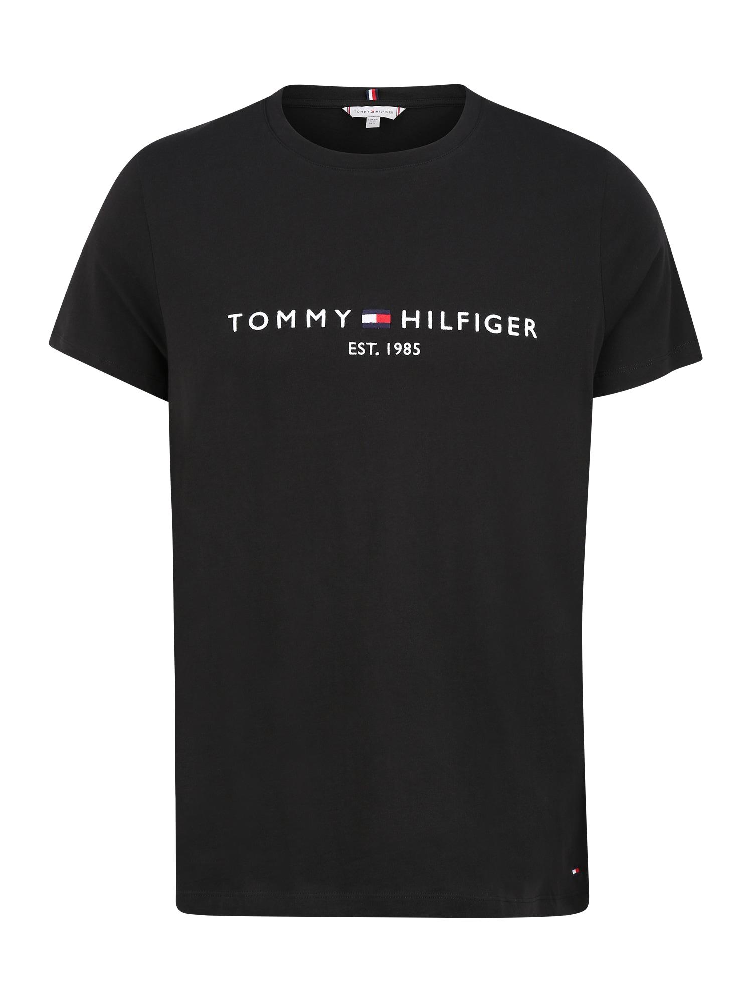 Tommy Hilfiger Curve Tričko  černá